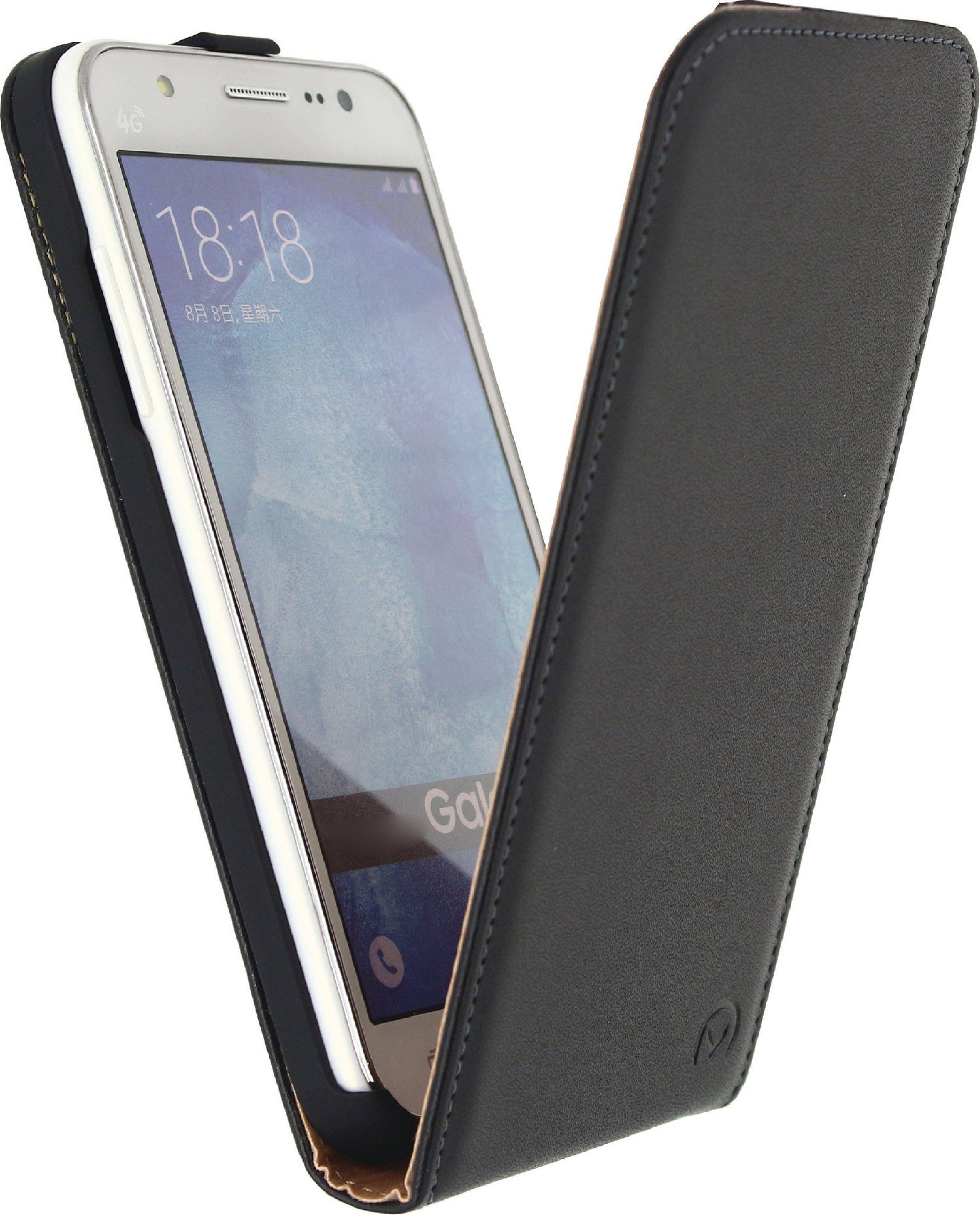 Image of   Telefon Klassisk Vippeetui Samsung Galaxy J5 Sort