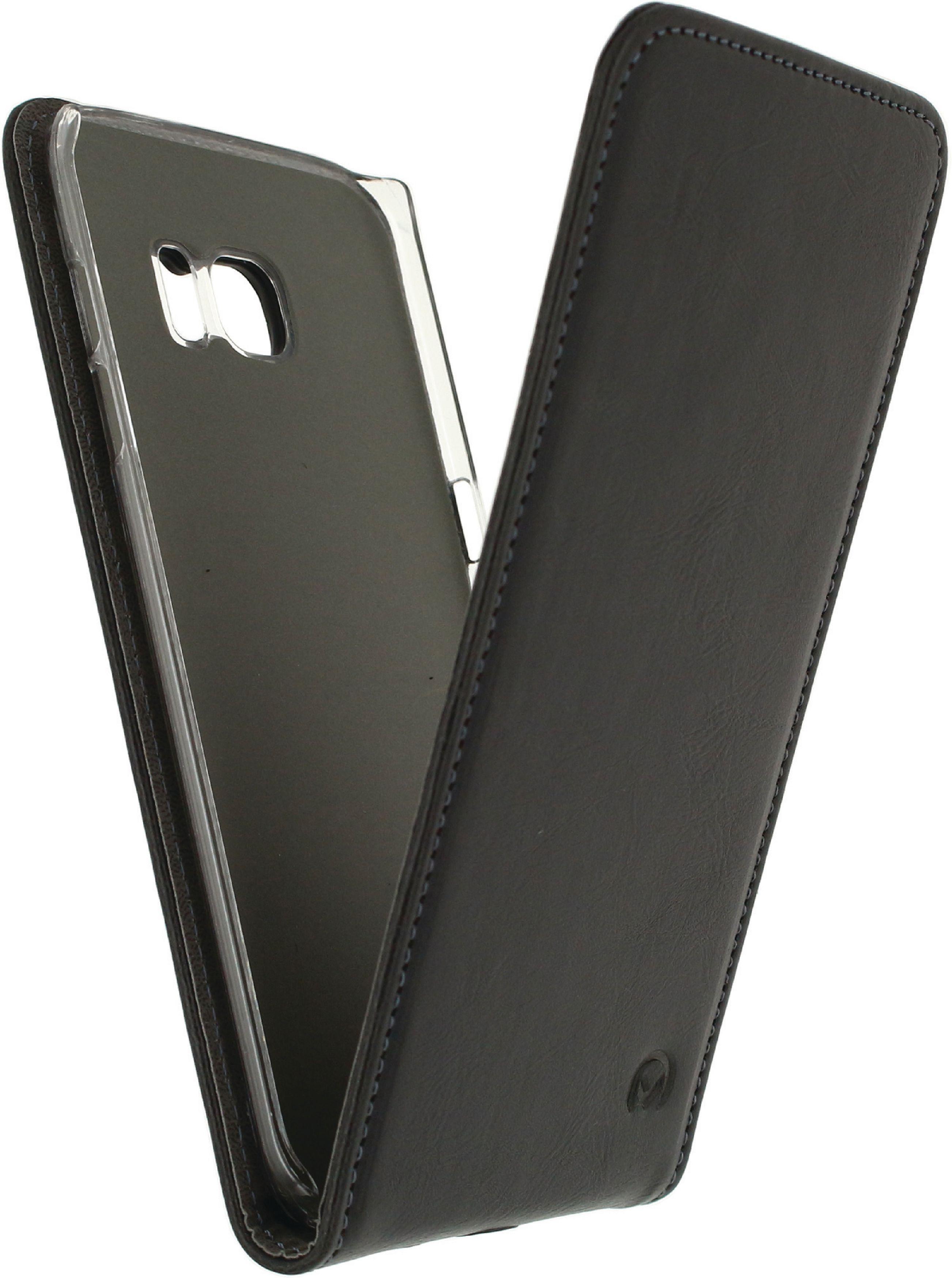 Image of   Telefon Premium Vippeetui med Magnet Samsung Galaxy S7 Edge Sort