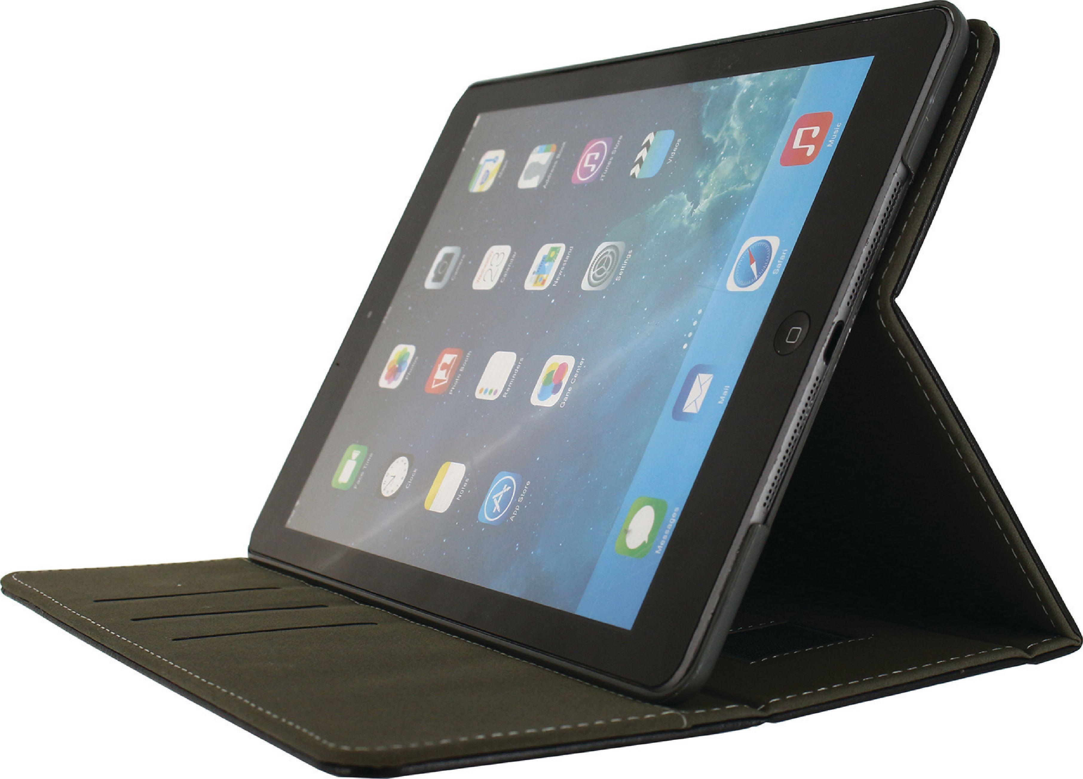 Billede af Tablet Premium Folieetui Apple iPad Air Sort