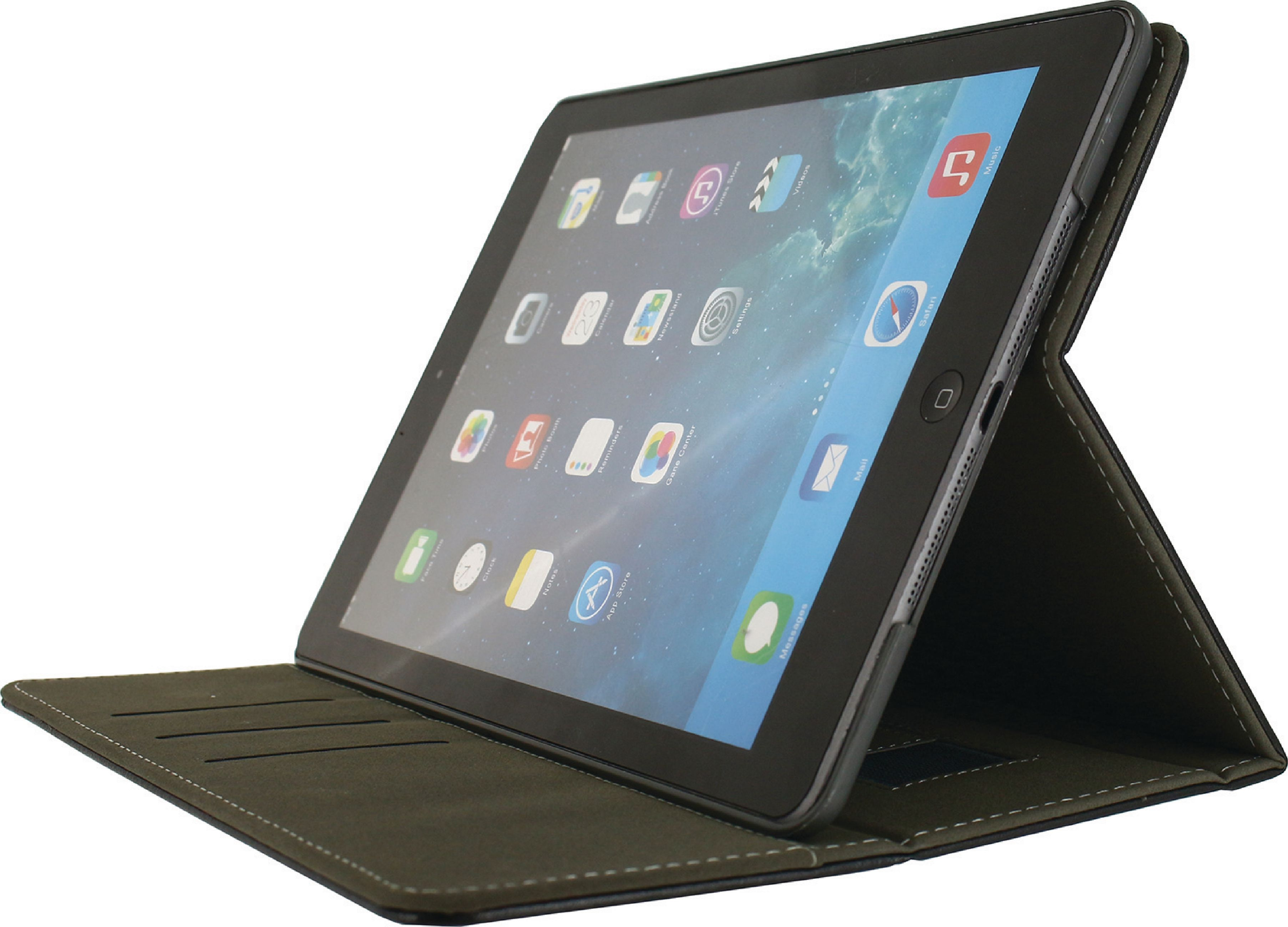 Billede af Tablet Premium Folieetui Apple iPad Air 2 Sort