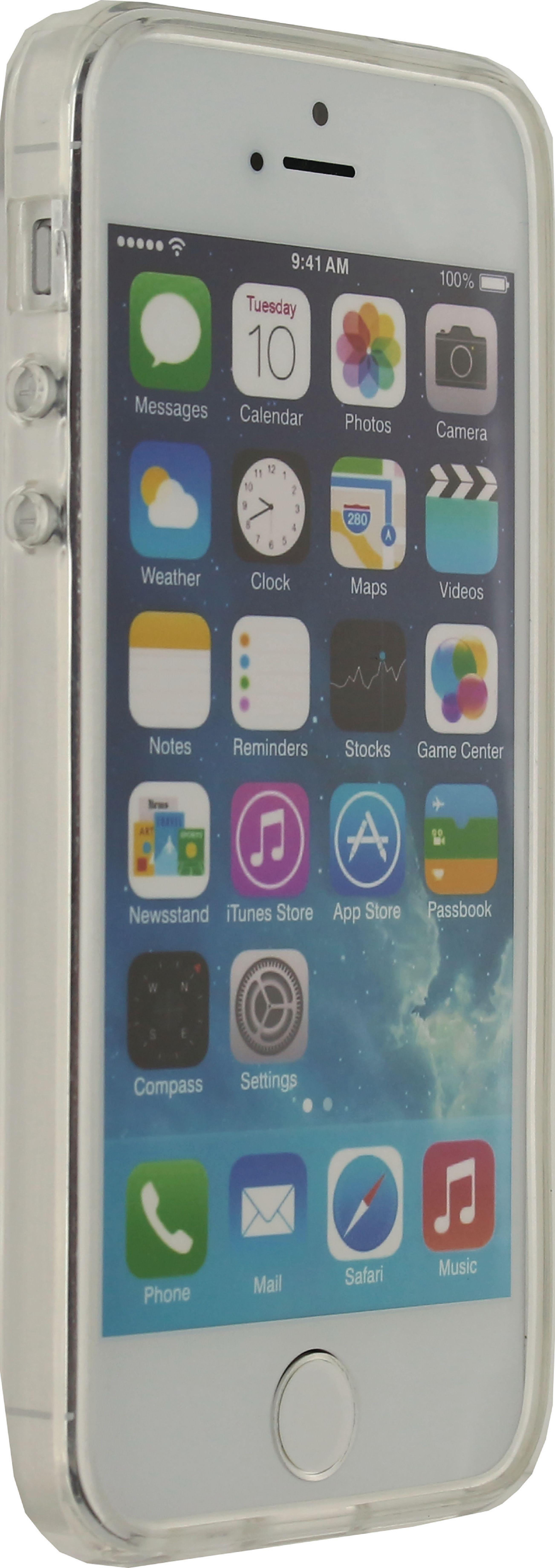 Image of   Telefon Transparent Beskyttelsesetui Apple iPhone 5 / 5s / SE Gennemsigtig