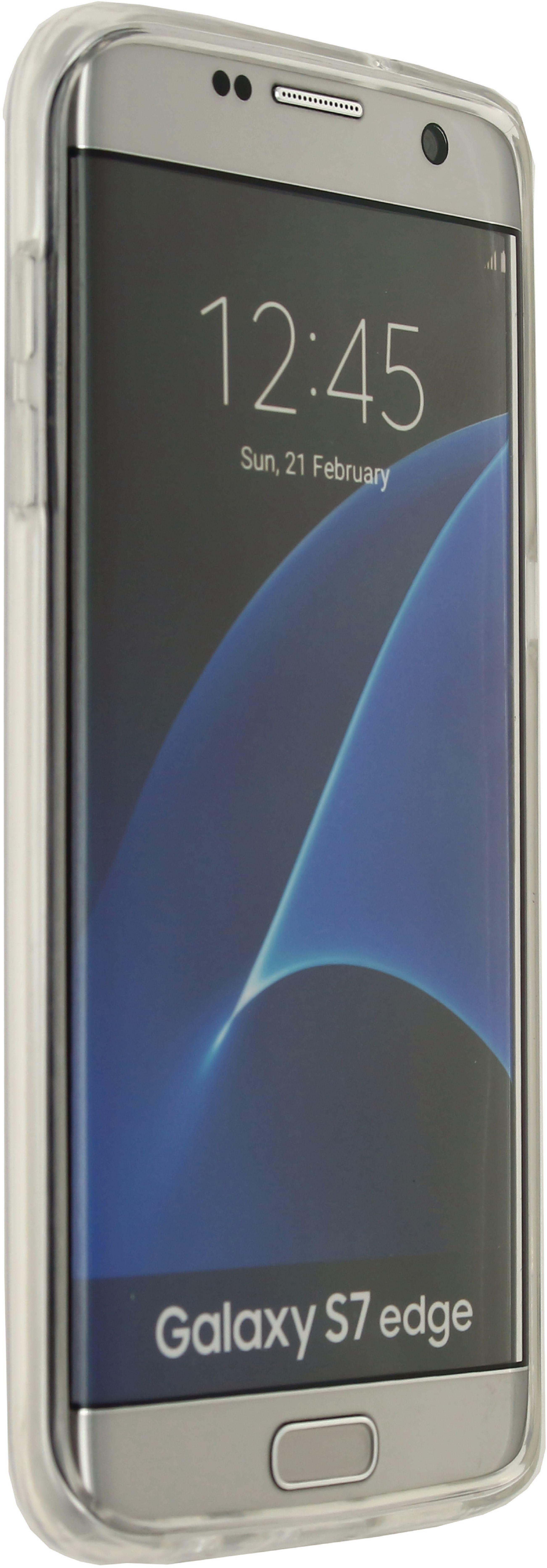 Image of   Telefon Transparent Beskyttelsesetui Samsung Galaxy S7 Edge Gennemsigtig