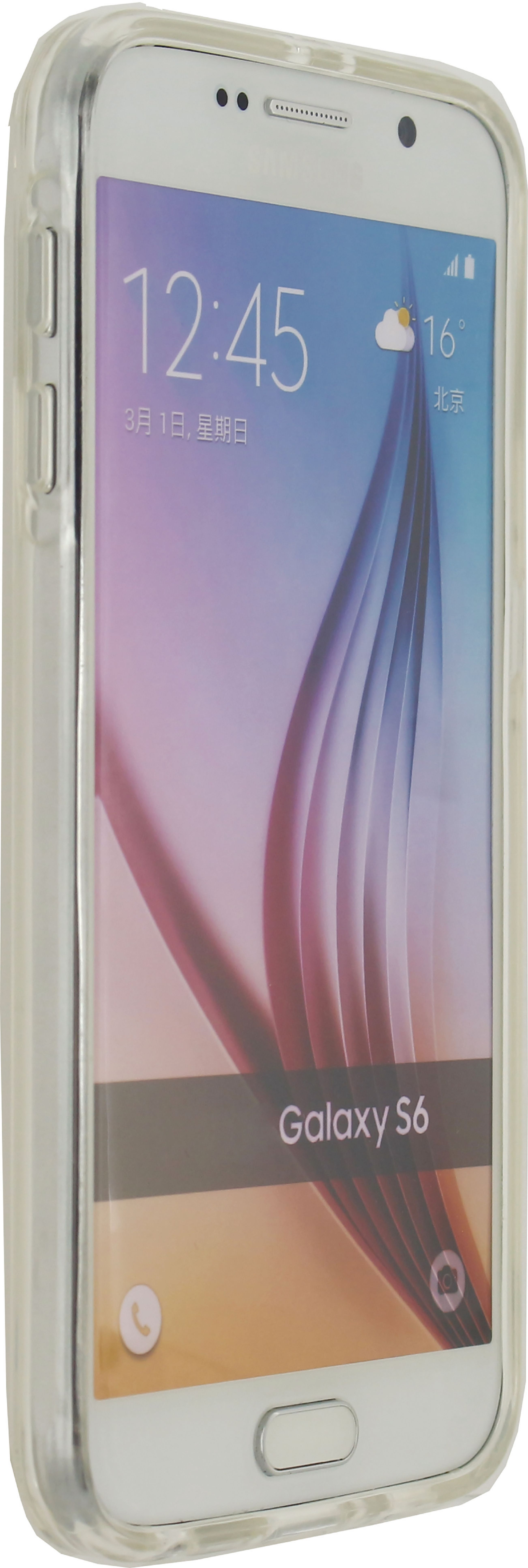 Image of   Telefon Transparent Beskyttelsesetui Samsung Galaxy S6 Gennemsigtig