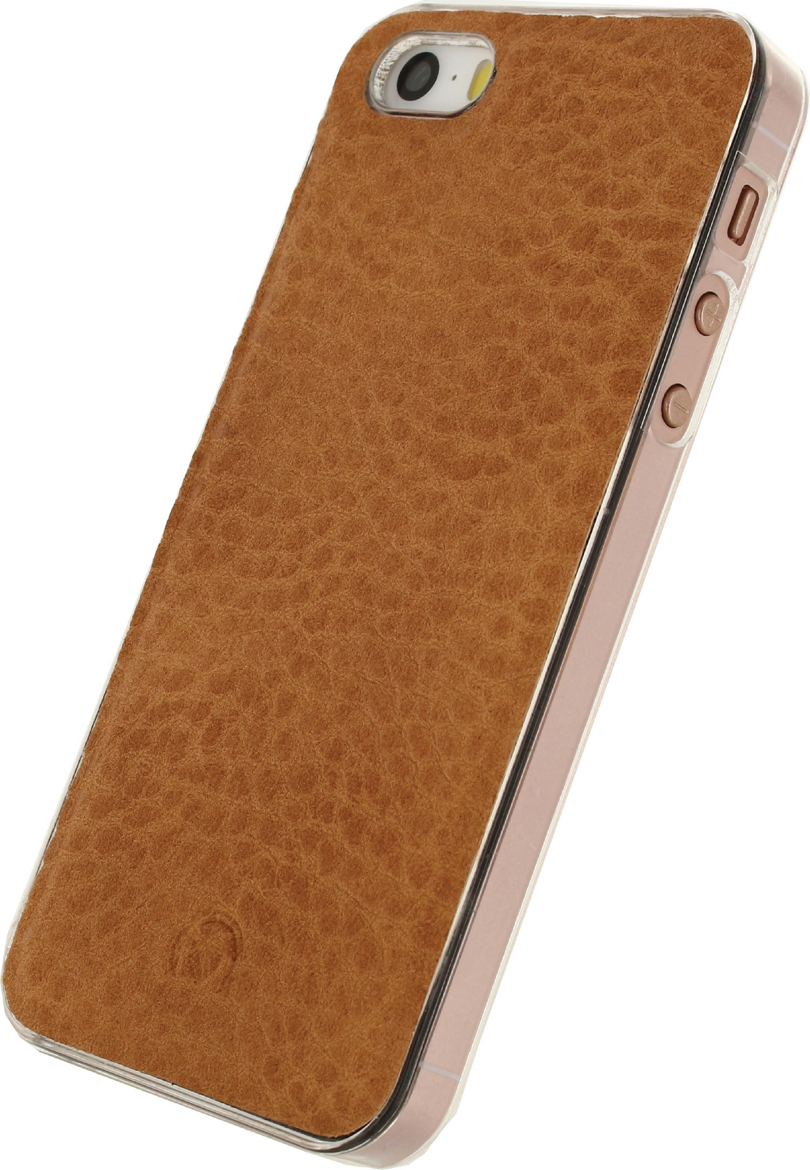Image of   Telefon Aftageligt Lommebogsetui Apple iPhone 5 / 5s / SE Brun