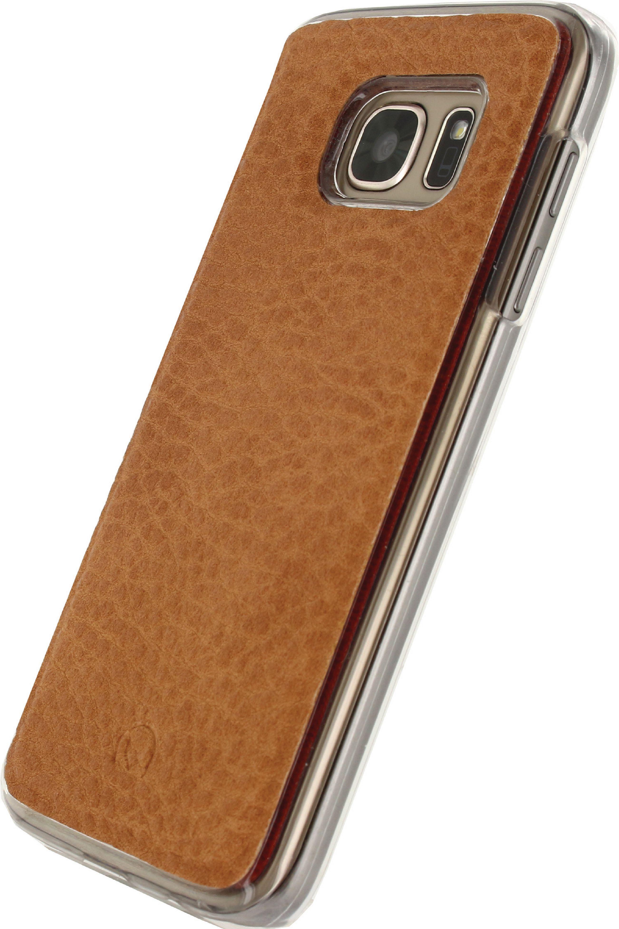 Billede af Telefon Aftageligt Lommebogsetui Samsung Galaxy S7 Brun