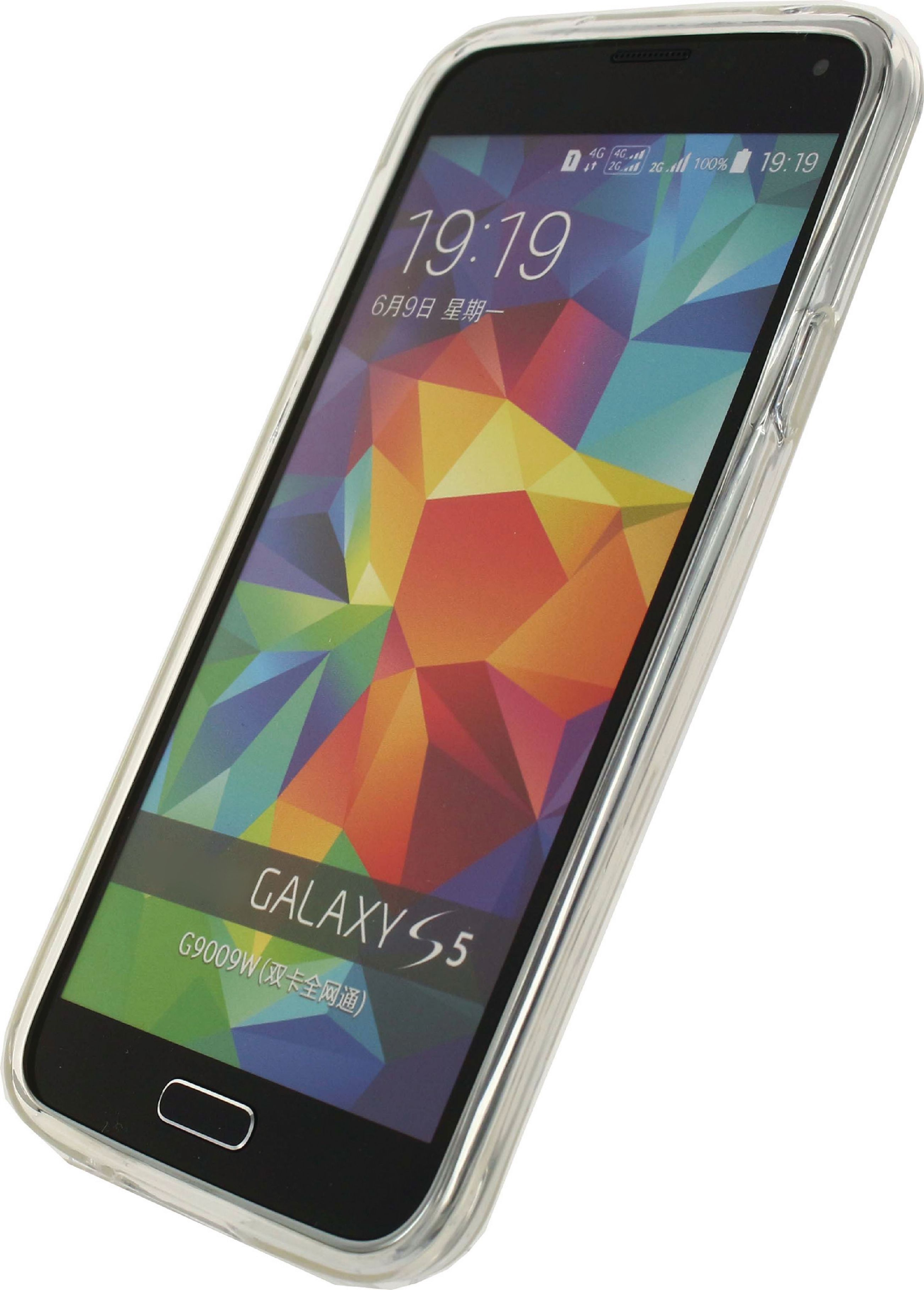 Image of   Telefon Gel-Etui Samsung Galaxy S5 / S5 Plus / S5 Neo Gennemsigtig