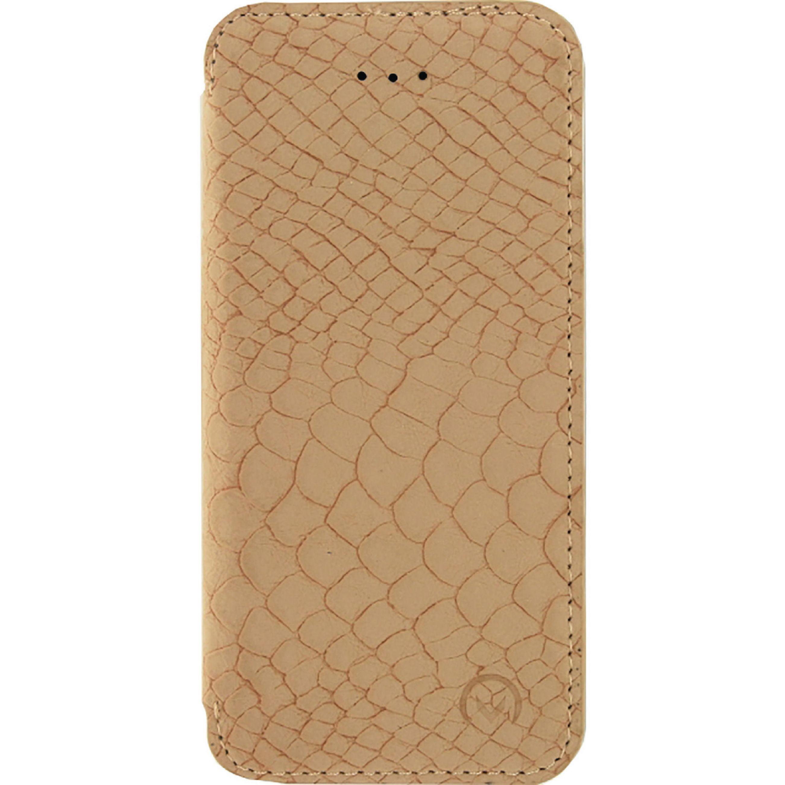 Image of   Telefon Slankt og Blødt Booklet-etui Apple iPhone 5 / 5s / SE Pink