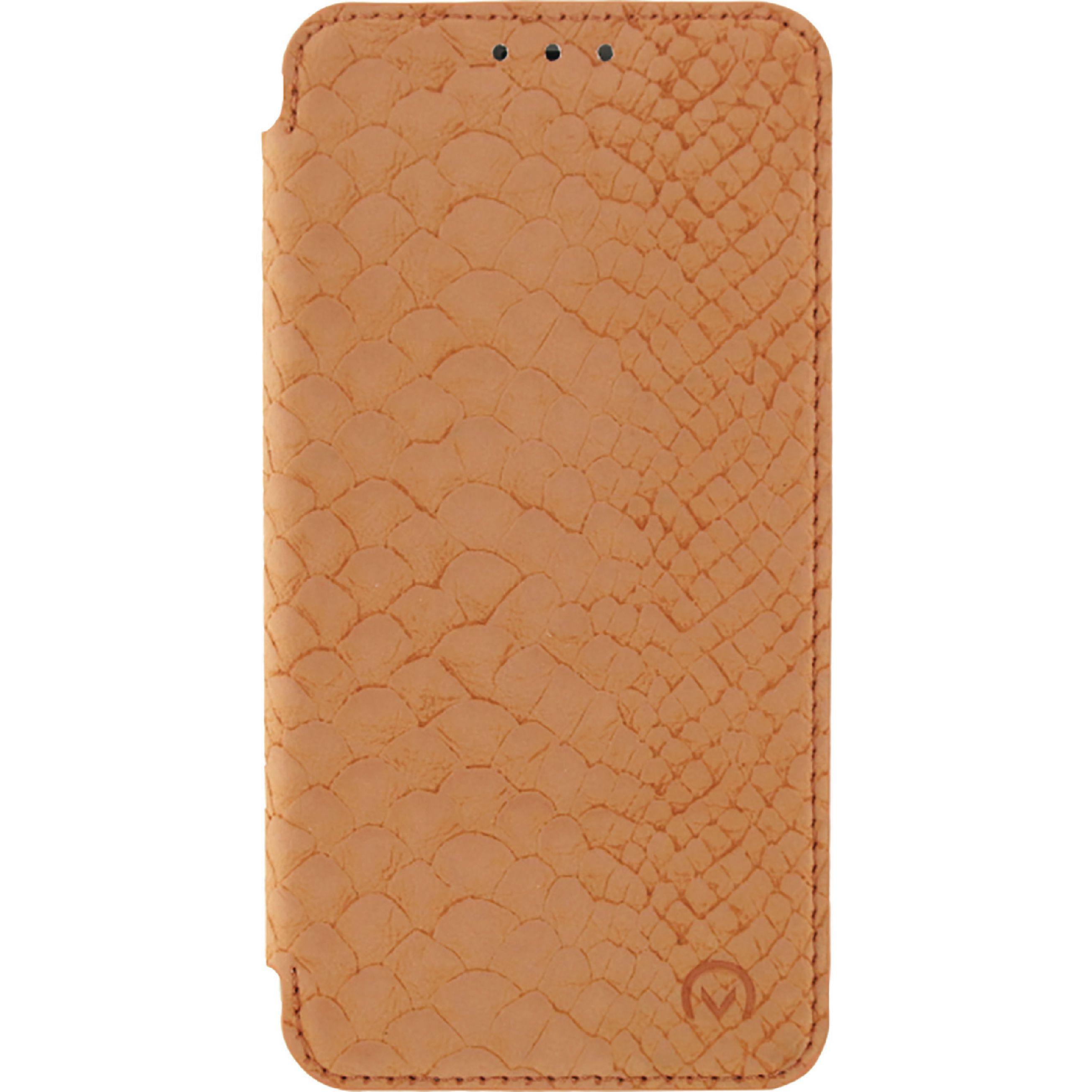 Image of   Telefon Slankt og Blødt Booklet-etui Samsung Galaxy J5 2016 Orange