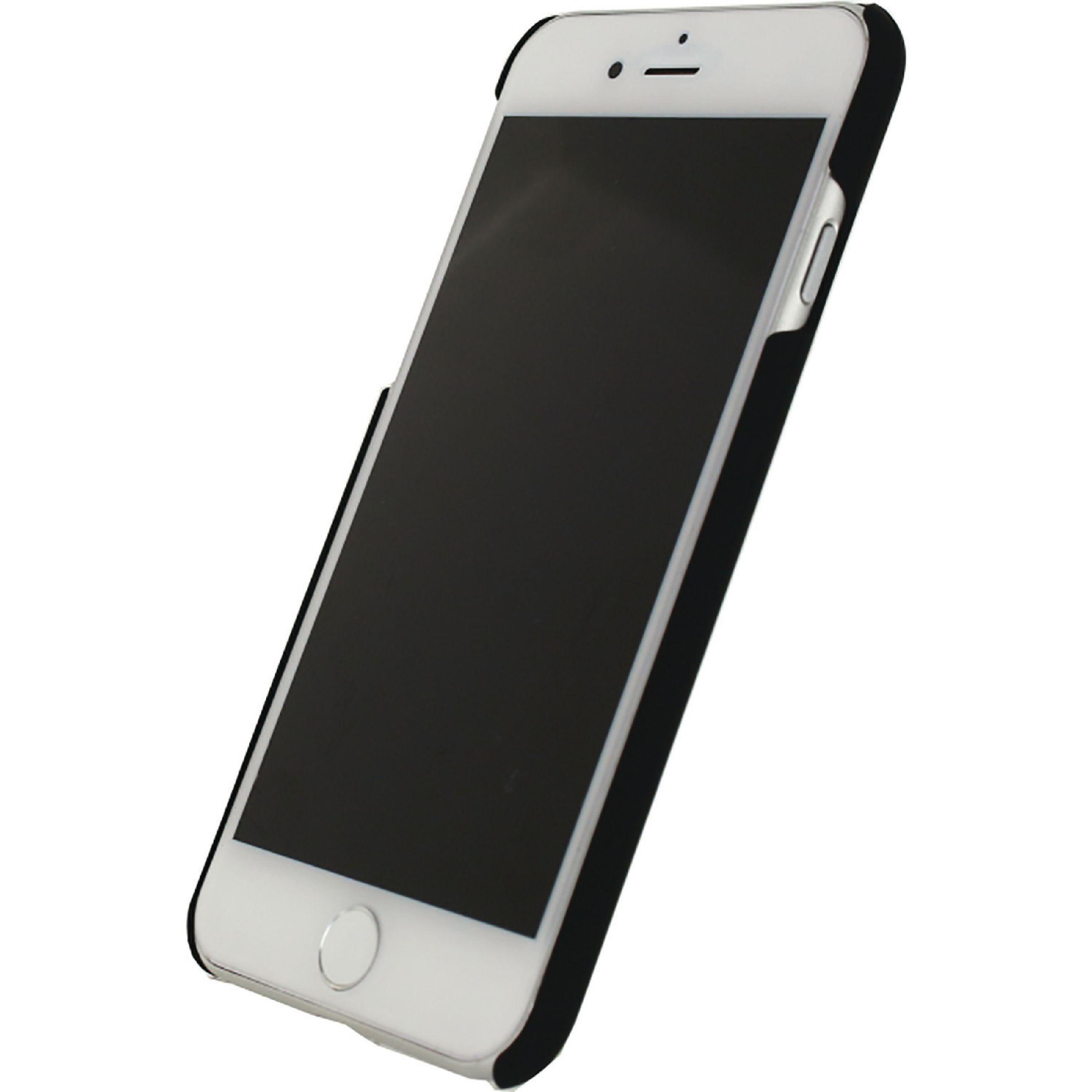 Billede af Telefon Cover med Premium-belægning Apple iPhone 7 / Apple iPhone 8 Sort