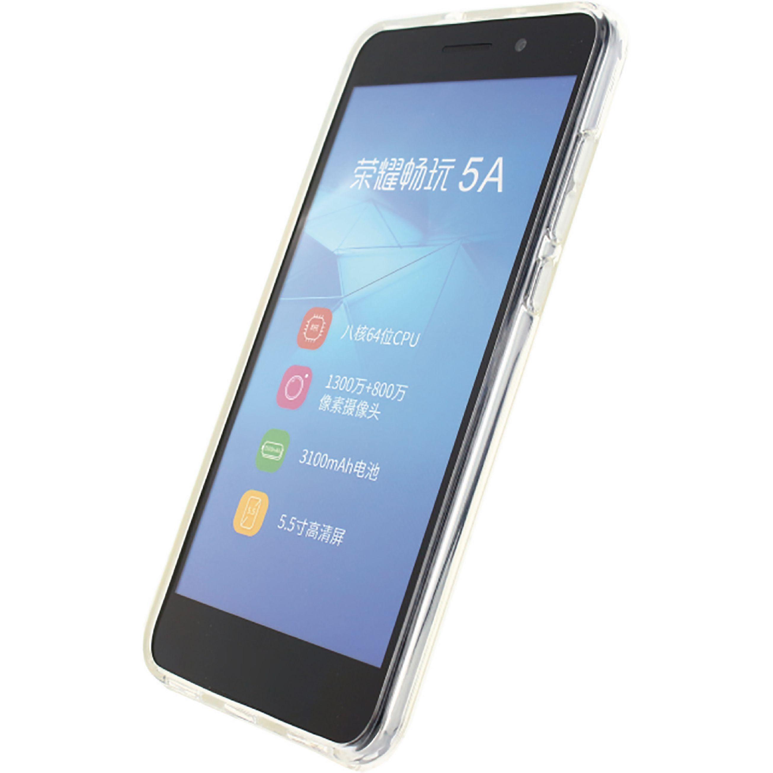 Image of   Telefon Gel-Etui Huawei Y6 II Gennemsigtig