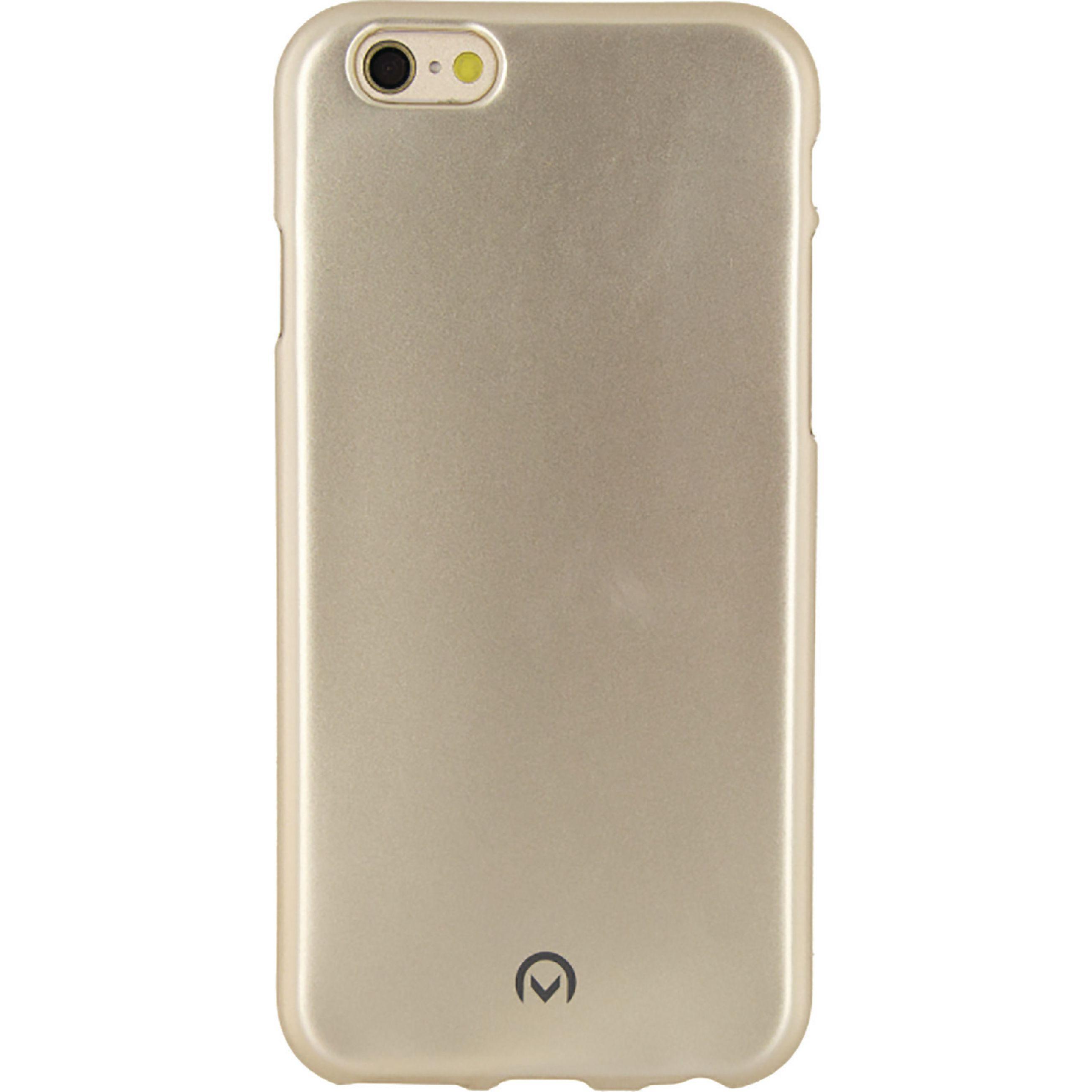 Image of   Telefon Metallisk Blødt Etui Apple iPhone 6 / 6s Guld