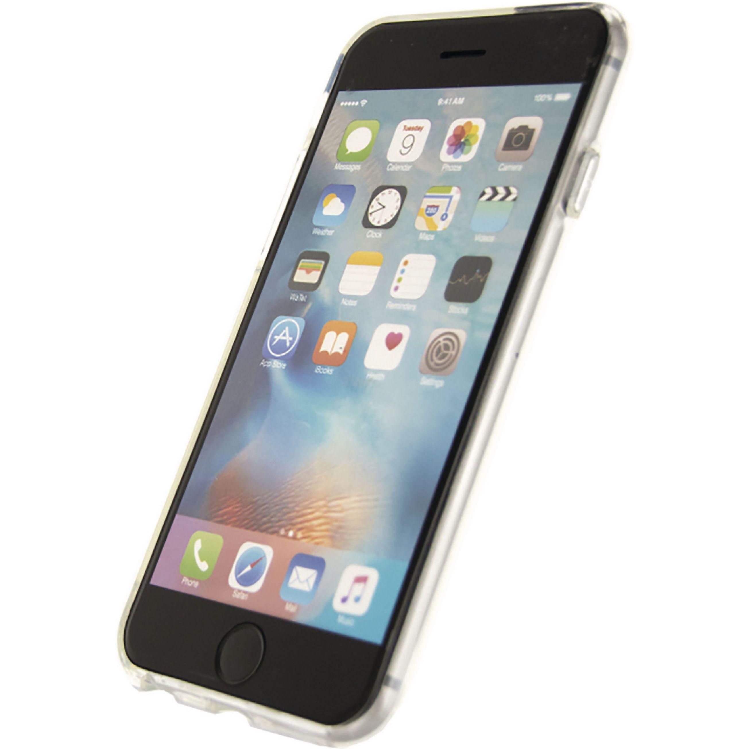 Image of   Telefon Førsteklasses Blødt Etui Apple iPhone 6 / 6s Sølv