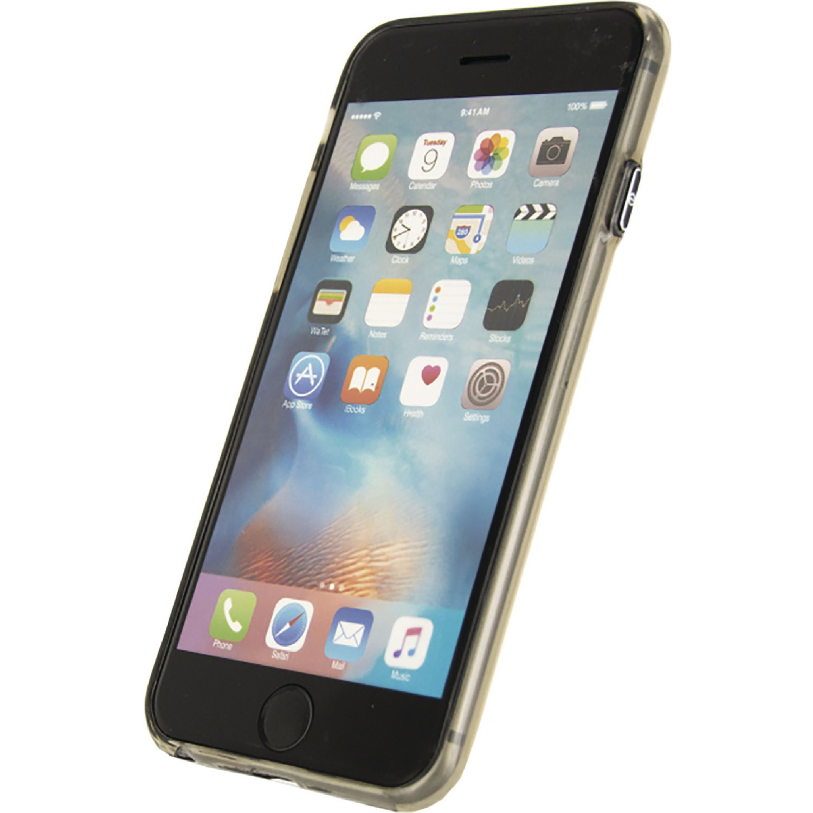 Image of   Telefon Førsteklasses Blødt Etui Apple iPhone 6 / 6s Grå