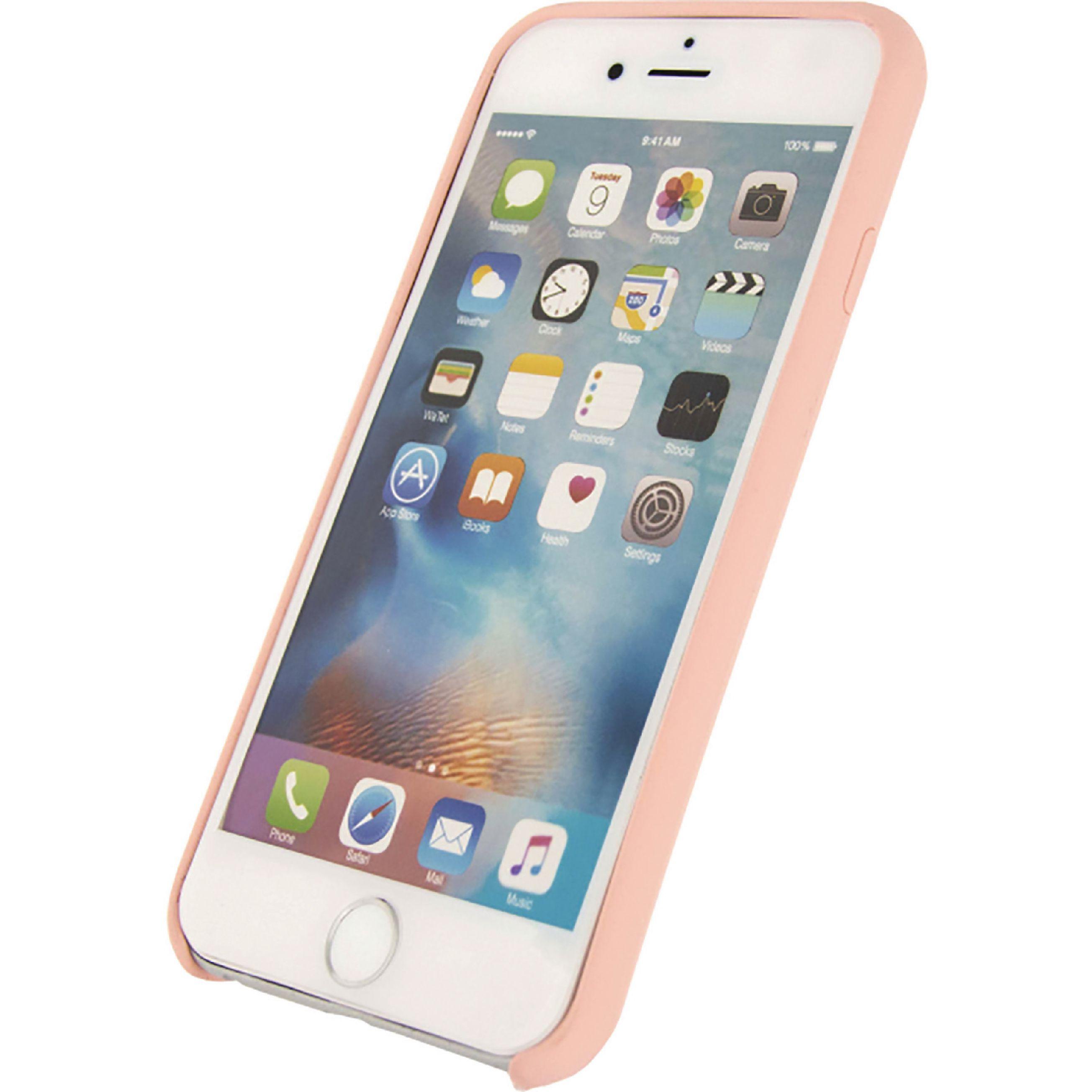 Image of   Telefon Robust Silikoneetui Apple iPhone 6 / 6s Pink
