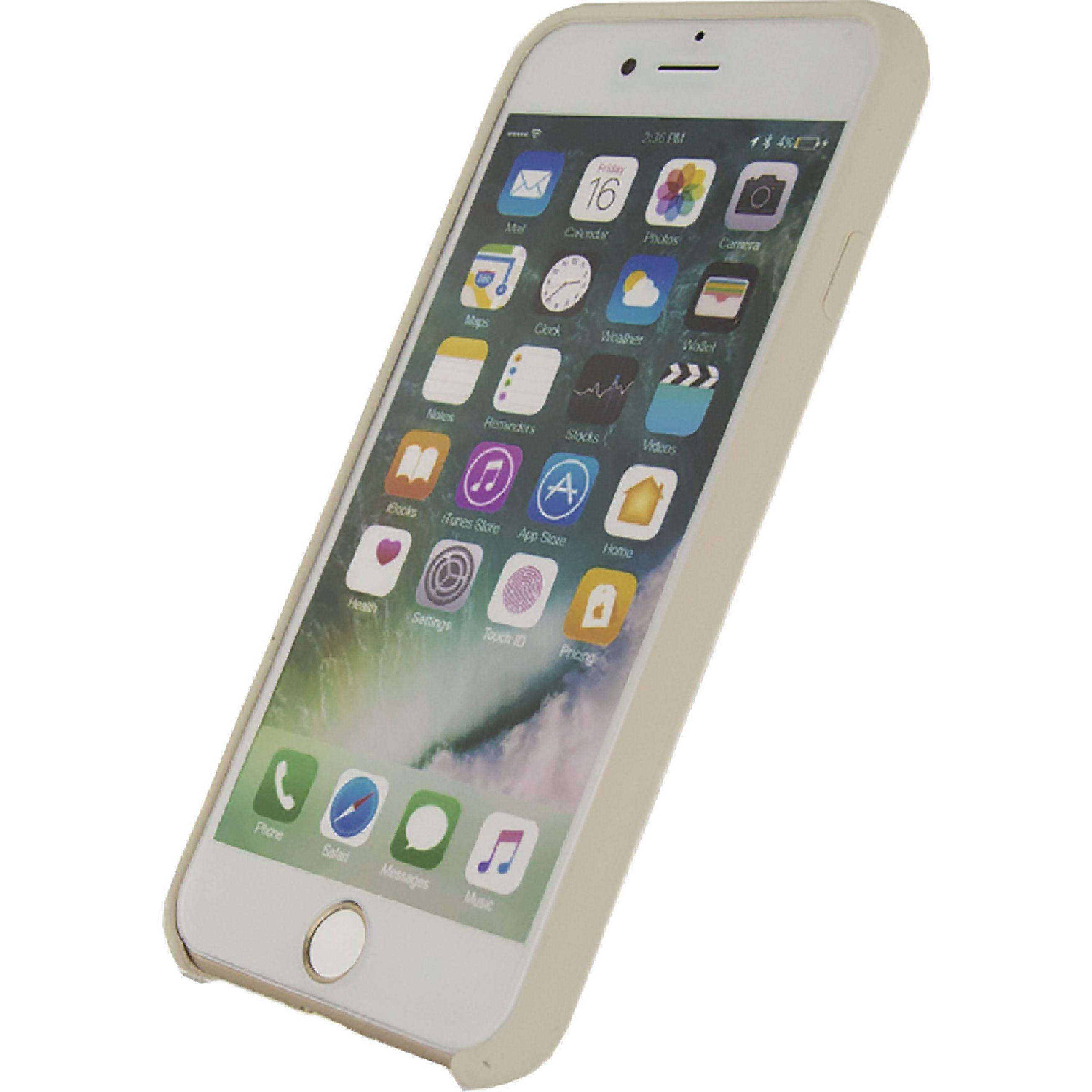 Image of   Telefon Robust Silikoneetui Apple iPhone 7 / Apple iPhone 8 Hvid