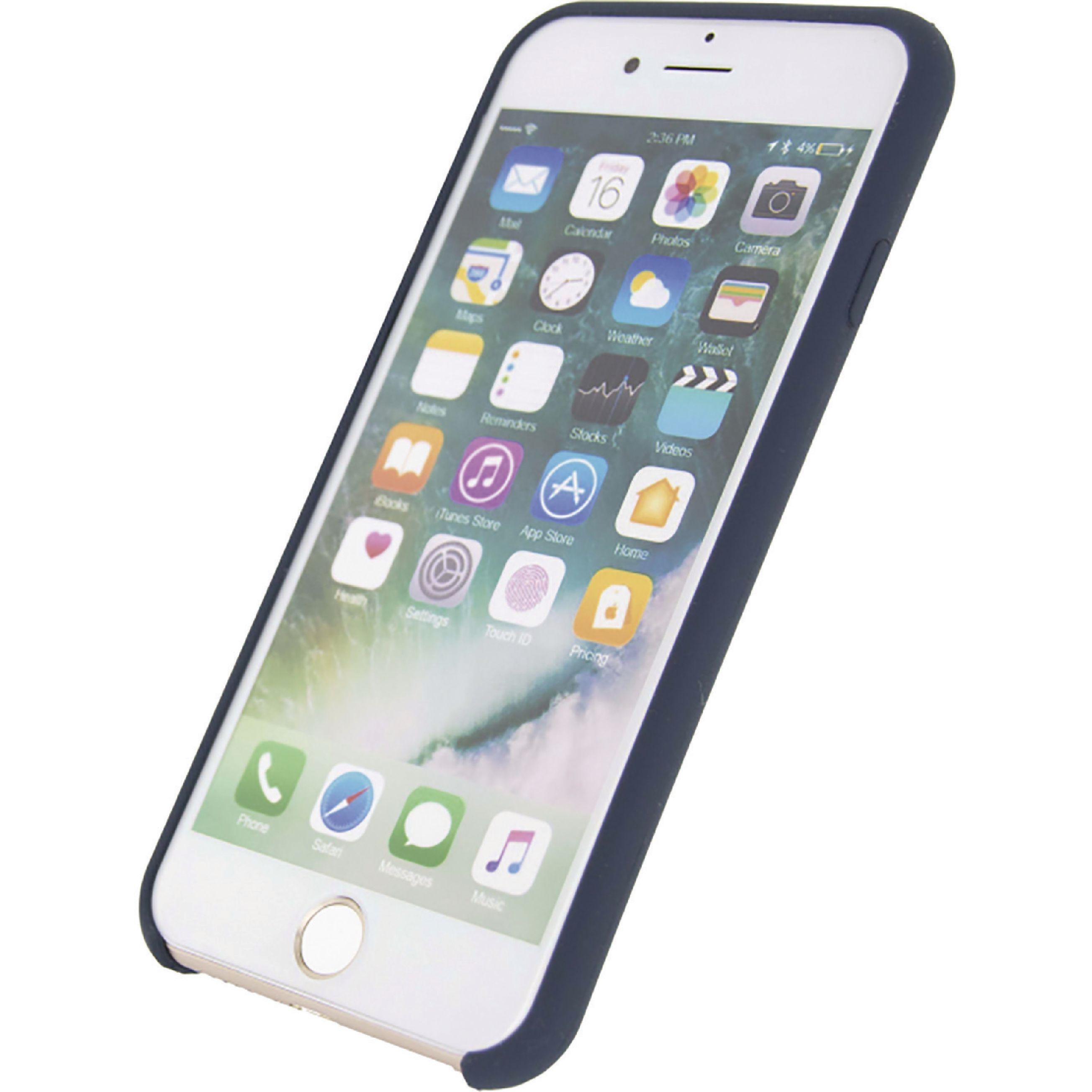 Image of   Telefon Robust Silikoneetui Apple iPhone 7 / Apple iPhone 8 Blå