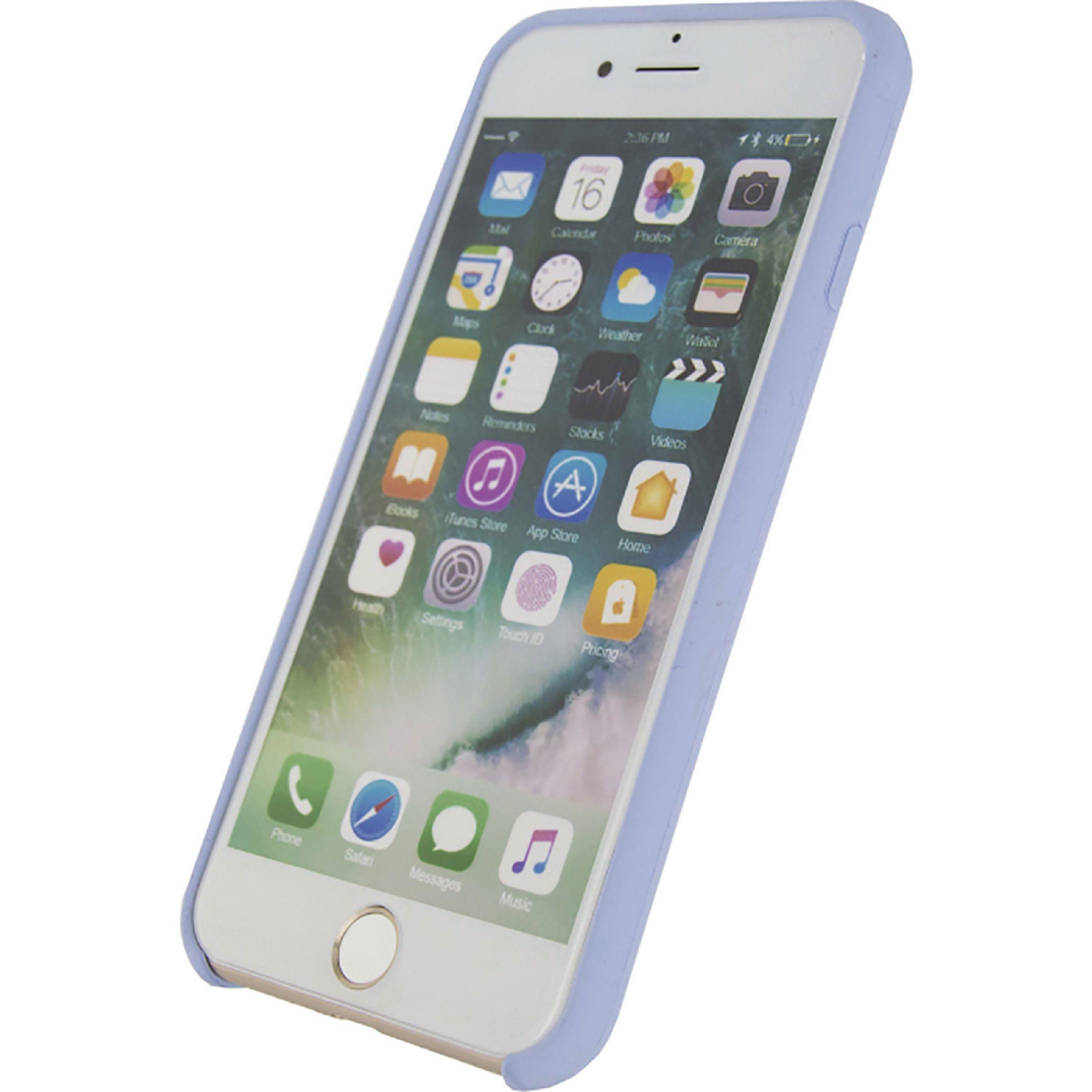 Image of   Telefon Robust Silikoneetui Apple iPhone 7 / Apple iPhone 8 Violet