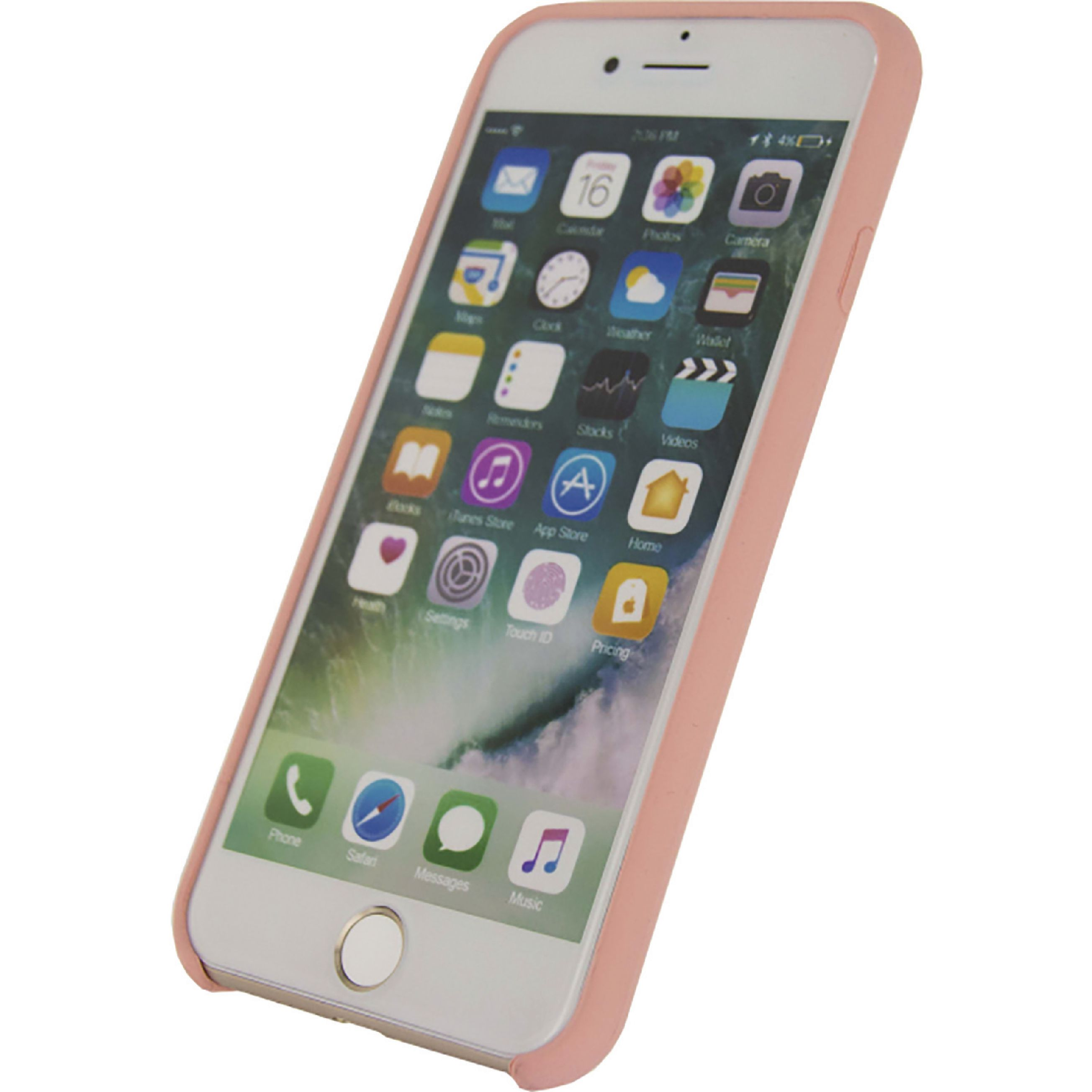 Image of   Telefon Robust Silikoneetui Apple iPhone 7 / Apple iPhone 8 Pink