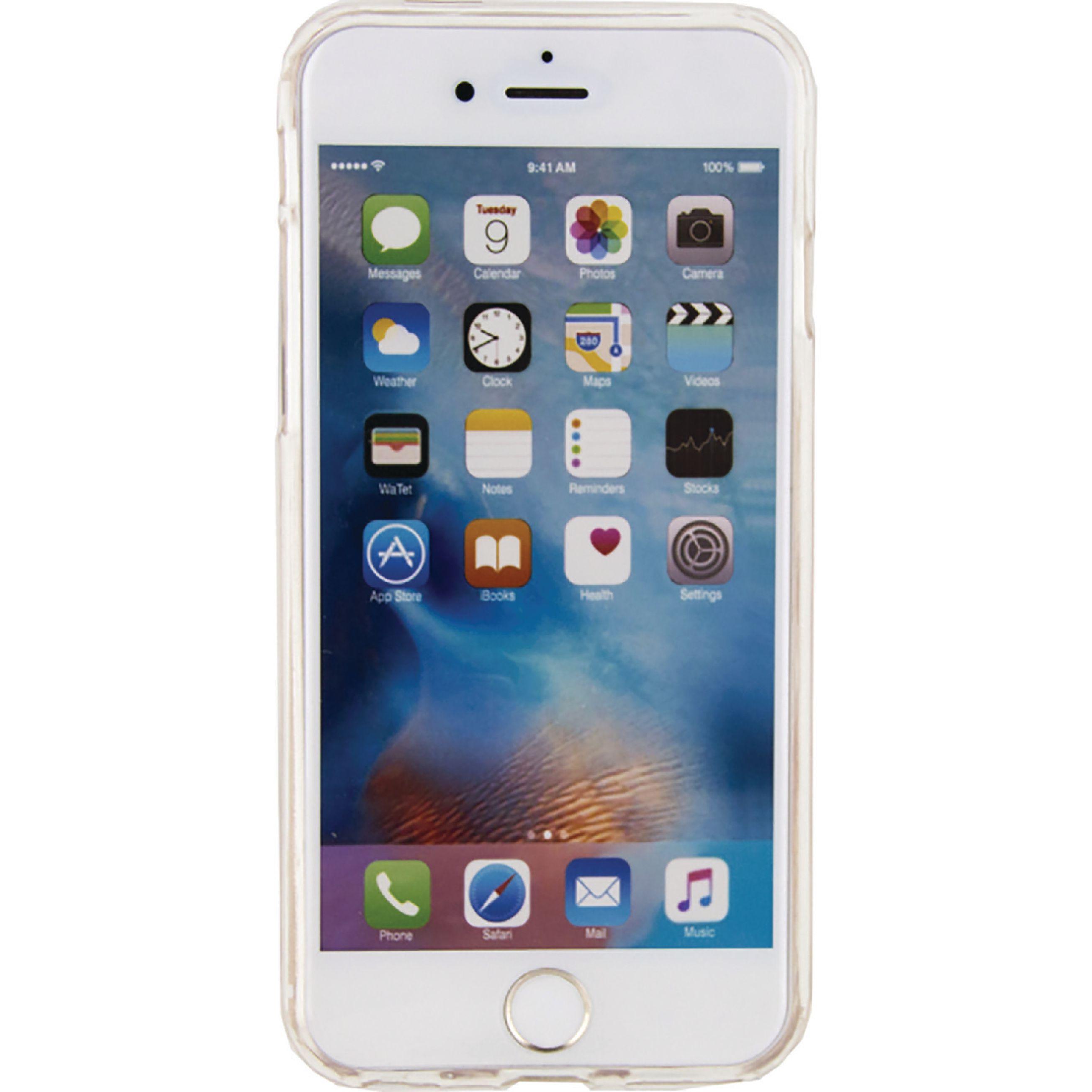 Image of   Telefon Glimmeretui Apple iPhone 6 / 6s Sølv