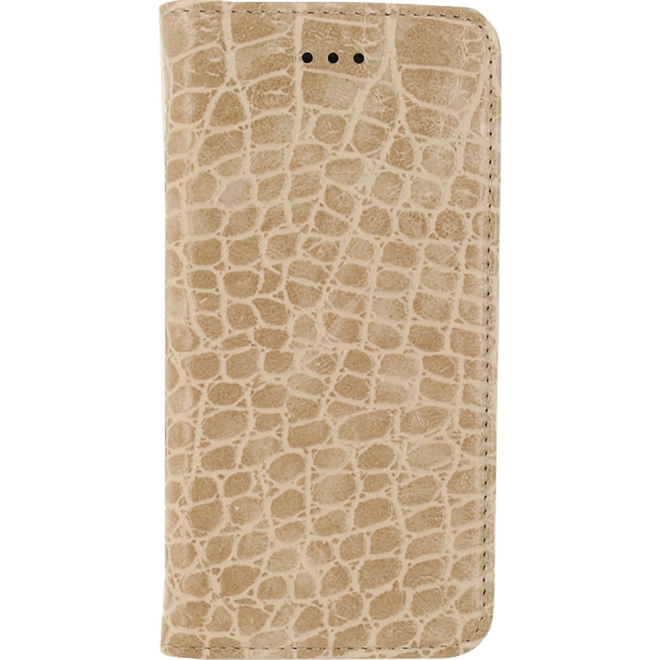 Image of   Telefon Premium Blødt Bogetui Samsung Galaxy S7 Edge Brun