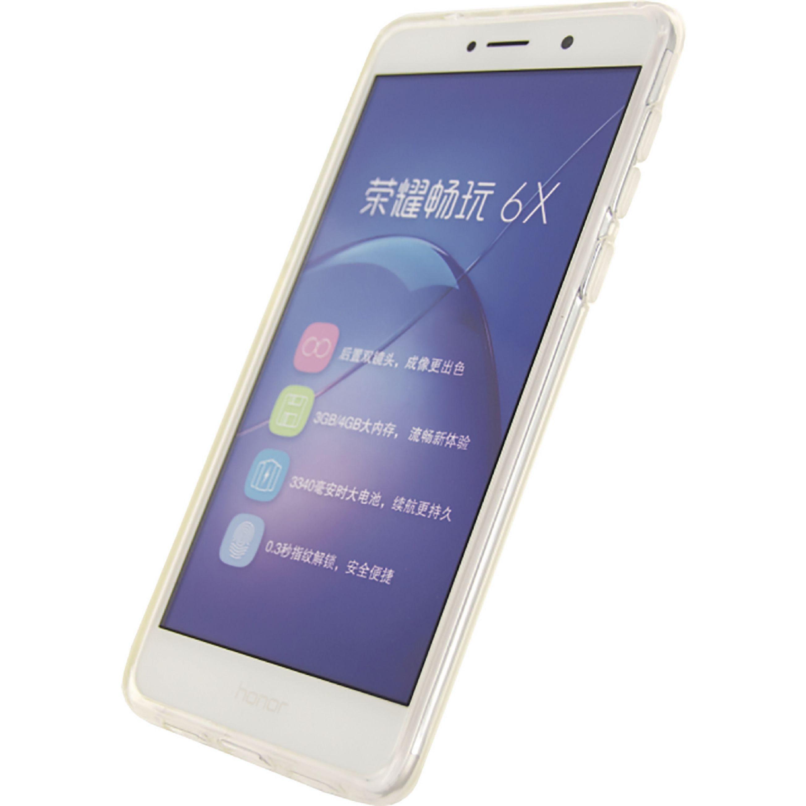 Image of   Telefon Gel-Etui Honor 6X Gennemsigtig