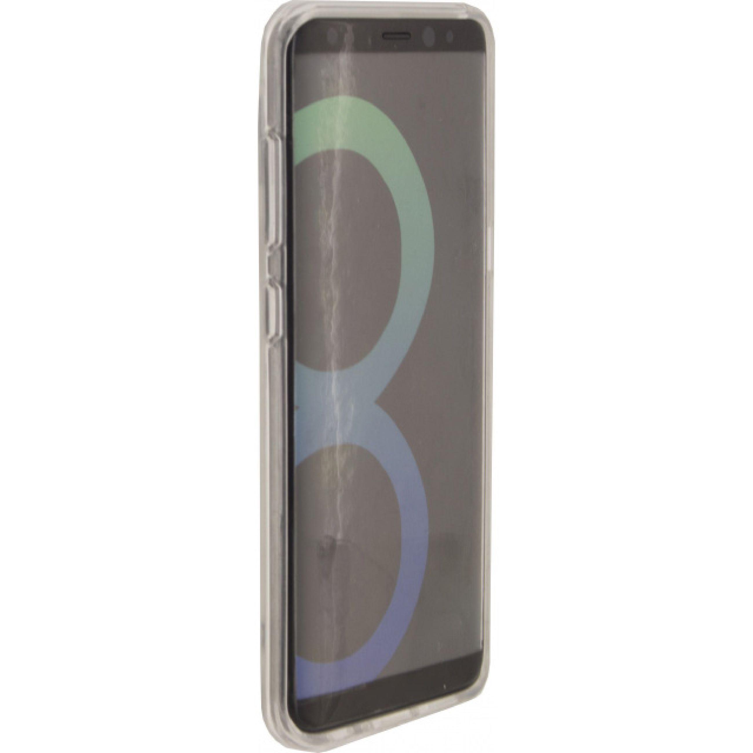 Image of   Telefon Transparent Beskyttelsesetui Samsung Galaxy S8 Gennemsigtig