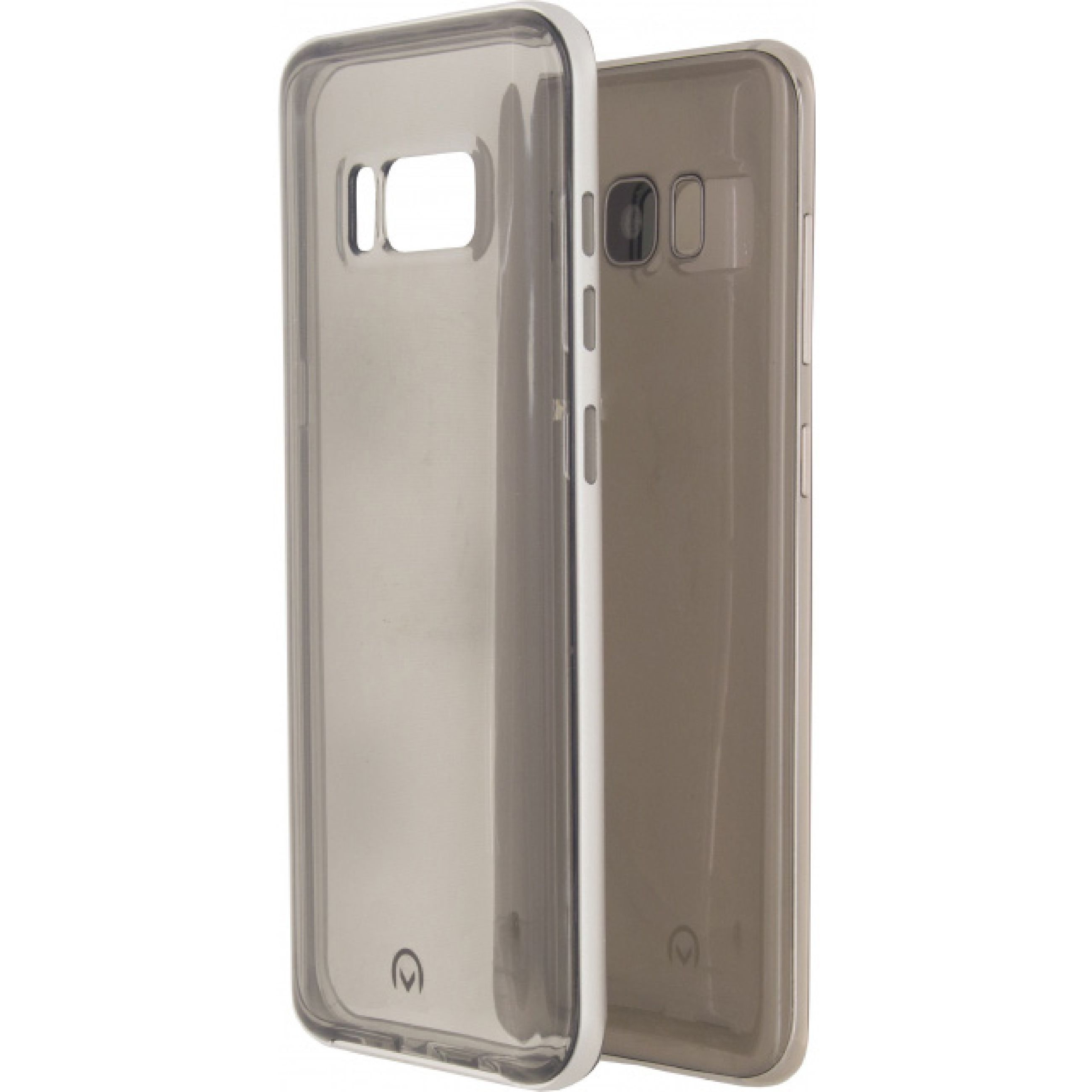 Image of   Telefon Gelly+ Etui Samsung Galaxy S8 Gennemsigtig/Aluminium
