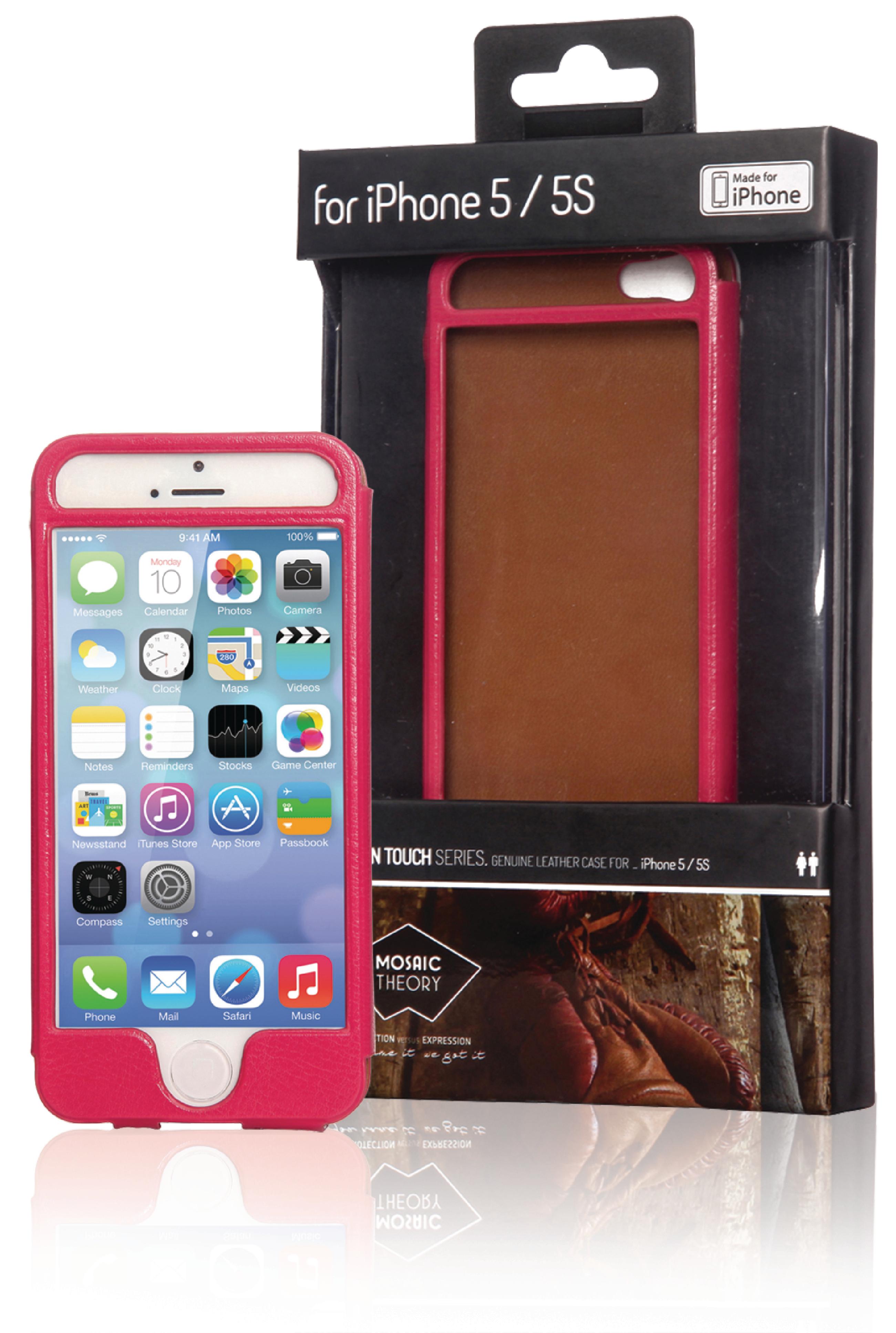 Image of   Telefon Hård etui Apple iPhone 5s Pink