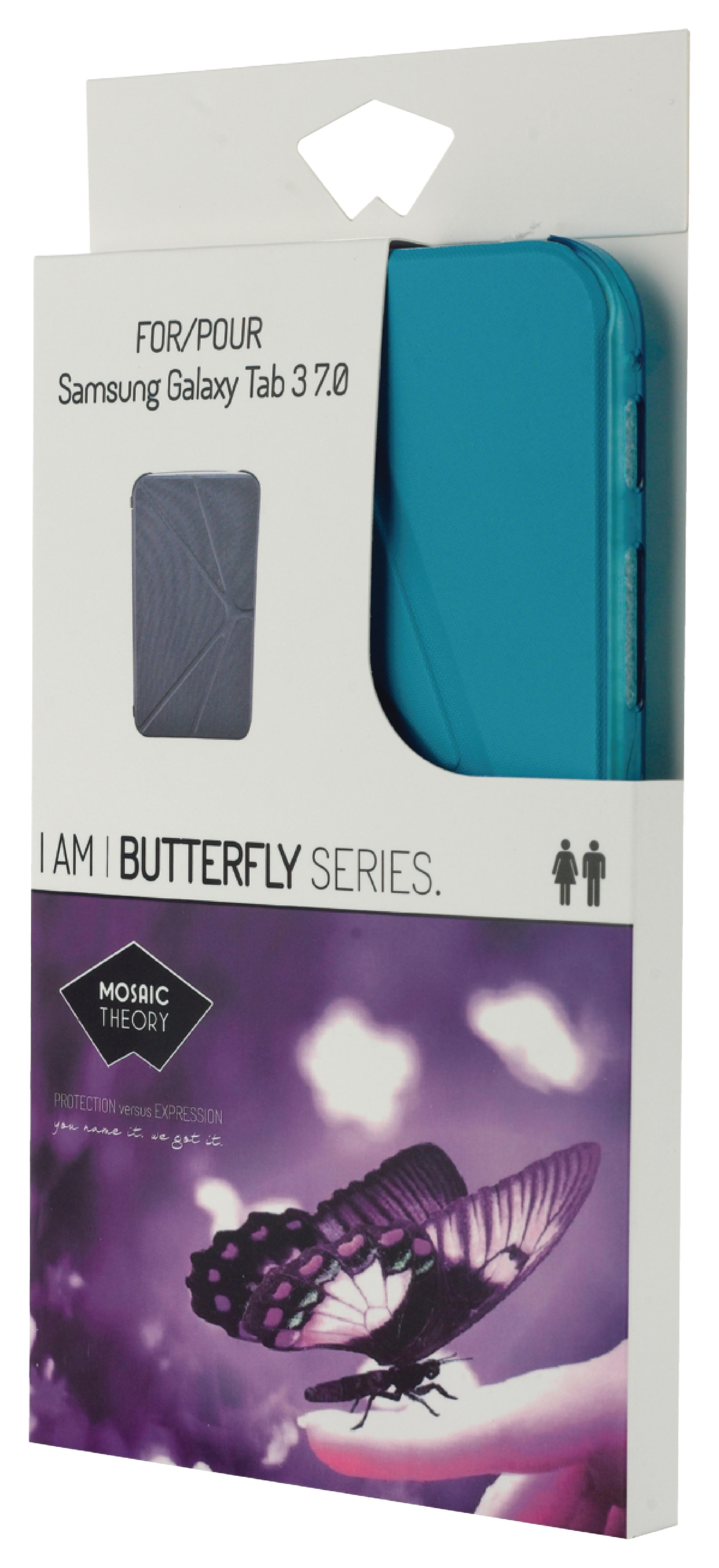 """Billede af Tablet Folie Samsung Galaxy Tab 3 7"""" Blå"""
