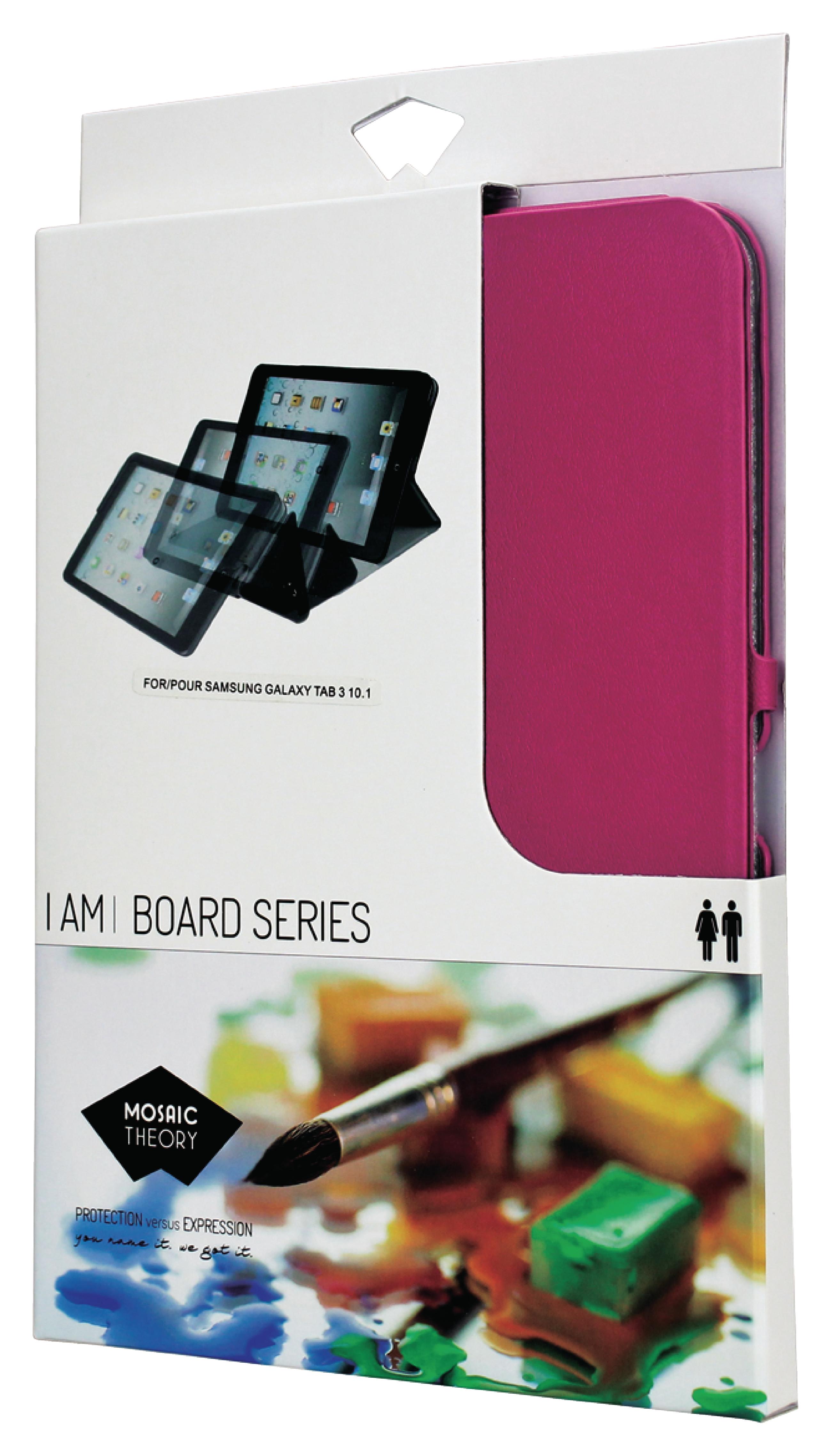 """Billede af Tablet Folie Samsung Galaxy Tab 3 10.1"""" Pink"""