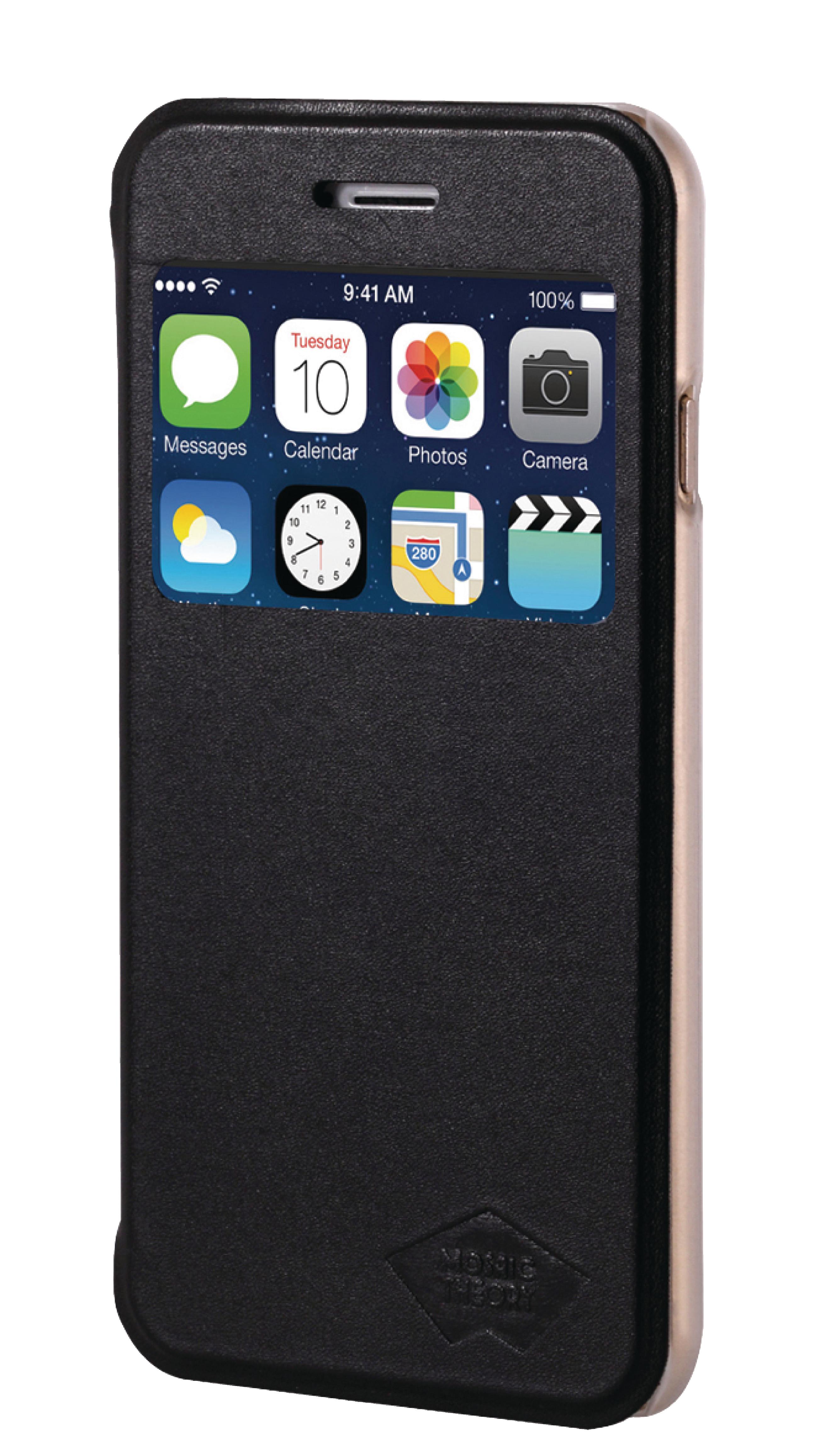 Image of   Telefon Tegnebogsetui Apple iPhone 6 Plus / 6s Plus Sort