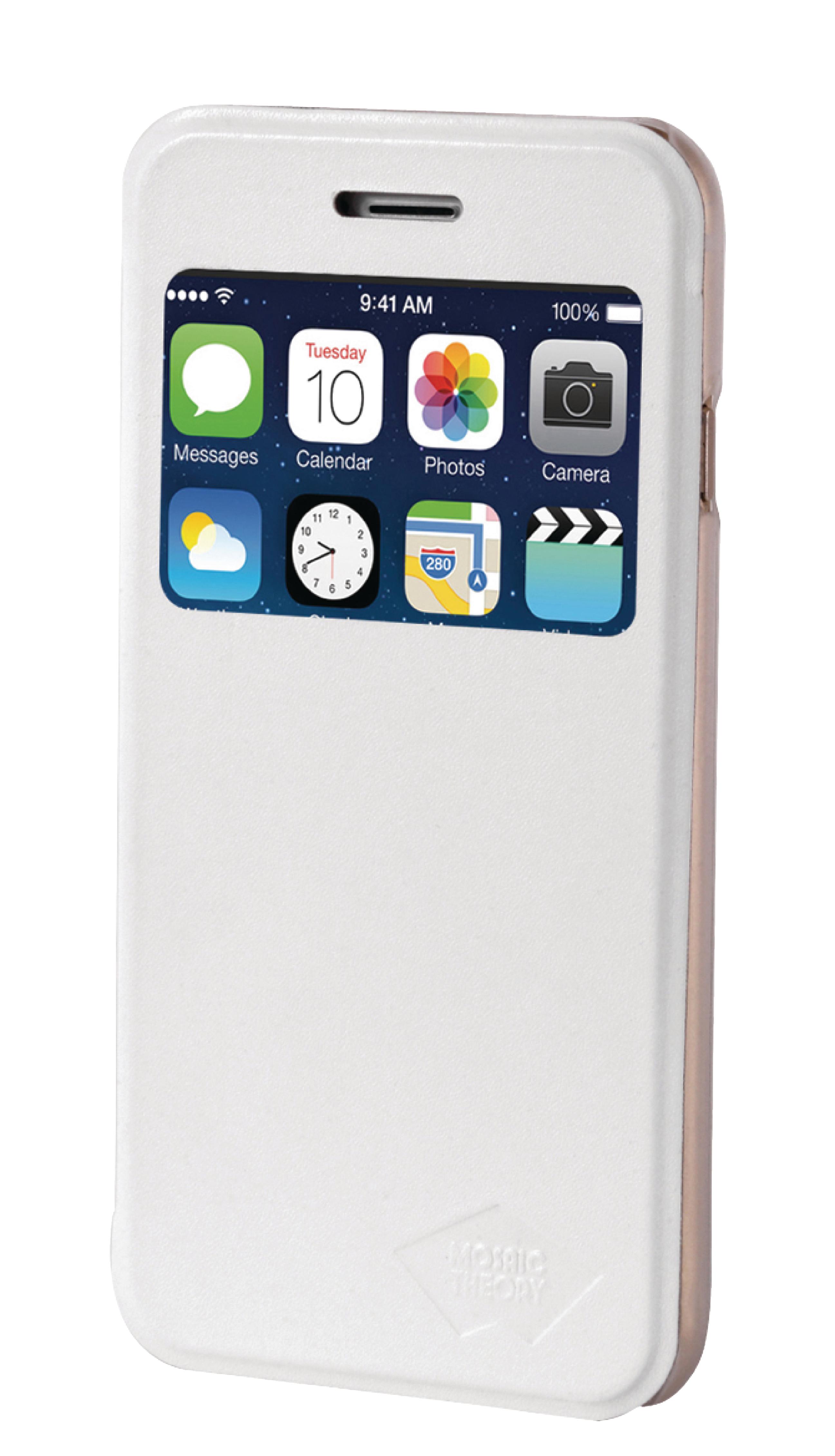 Image of   Telefon Tegnebogsetui Apple iPhone 6 Plus / 6s Plus Hvid