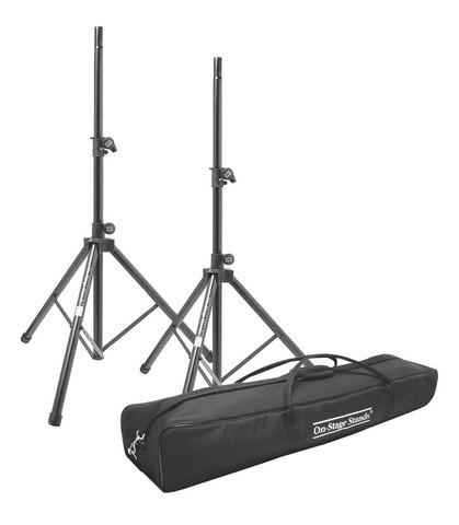 Billede af On-Stage Højttalerstativer med taske (60kg/2,03m)