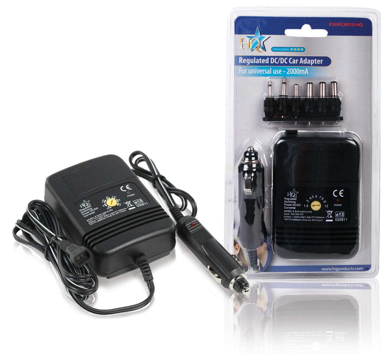 Billede af Universal Dc Power Adapter 1.5 VDC / 3 VDC / 4.5 VDC / 6 VDC / 7.5 VDC / 9 VDC / 12 VDC 2.0 A
