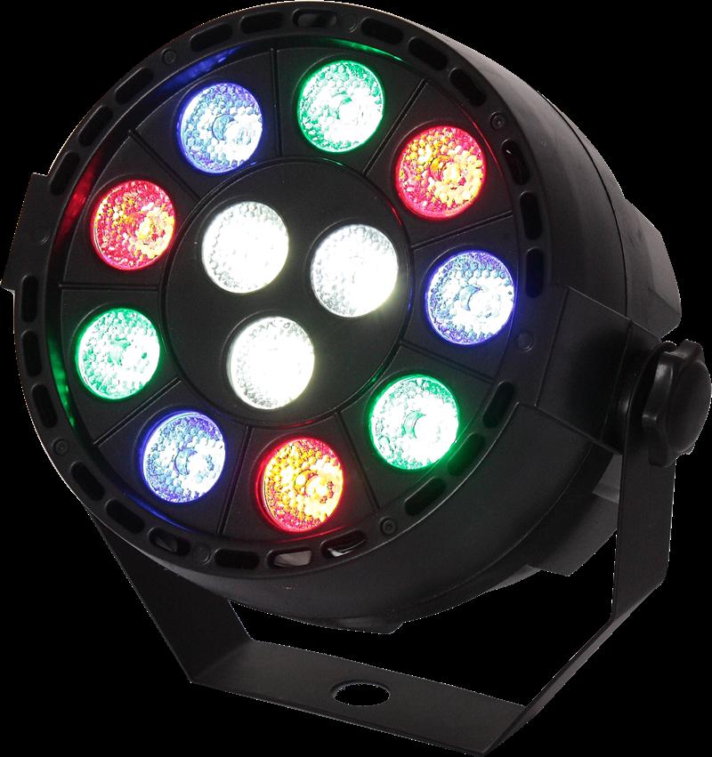 Image of   LED PAR CAN 12 x 1W RGBW