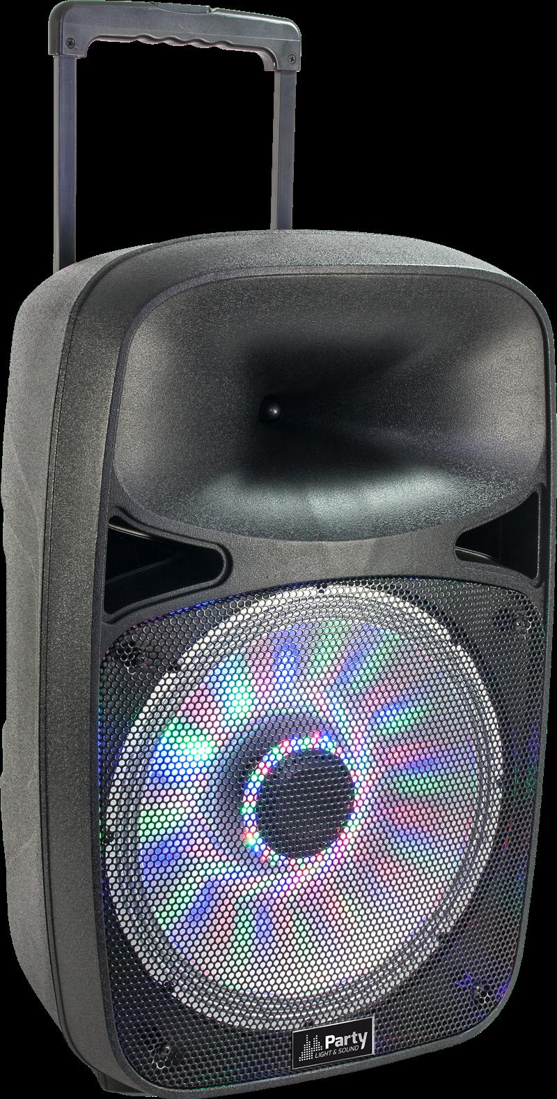 Billede af PORTABLE SOUND SYSTEM WITH USB, BLUETOOTH & VHF MIC 12''/30cm - 500W
