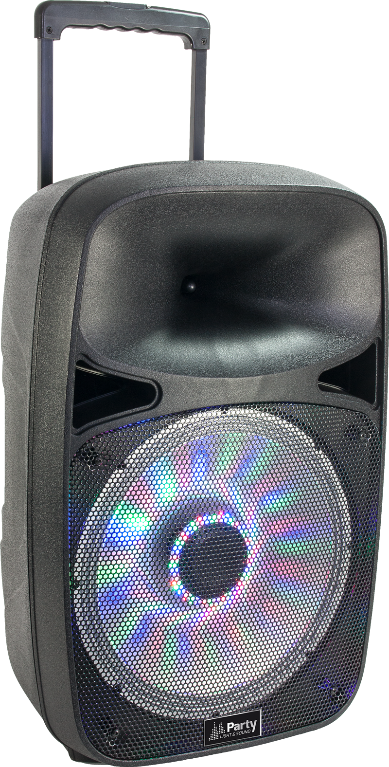 Image of   PORTABLE SOUND SYSTEM WITH USB, BLUETOOTH & VHF MIC 15''/38cm - 700W