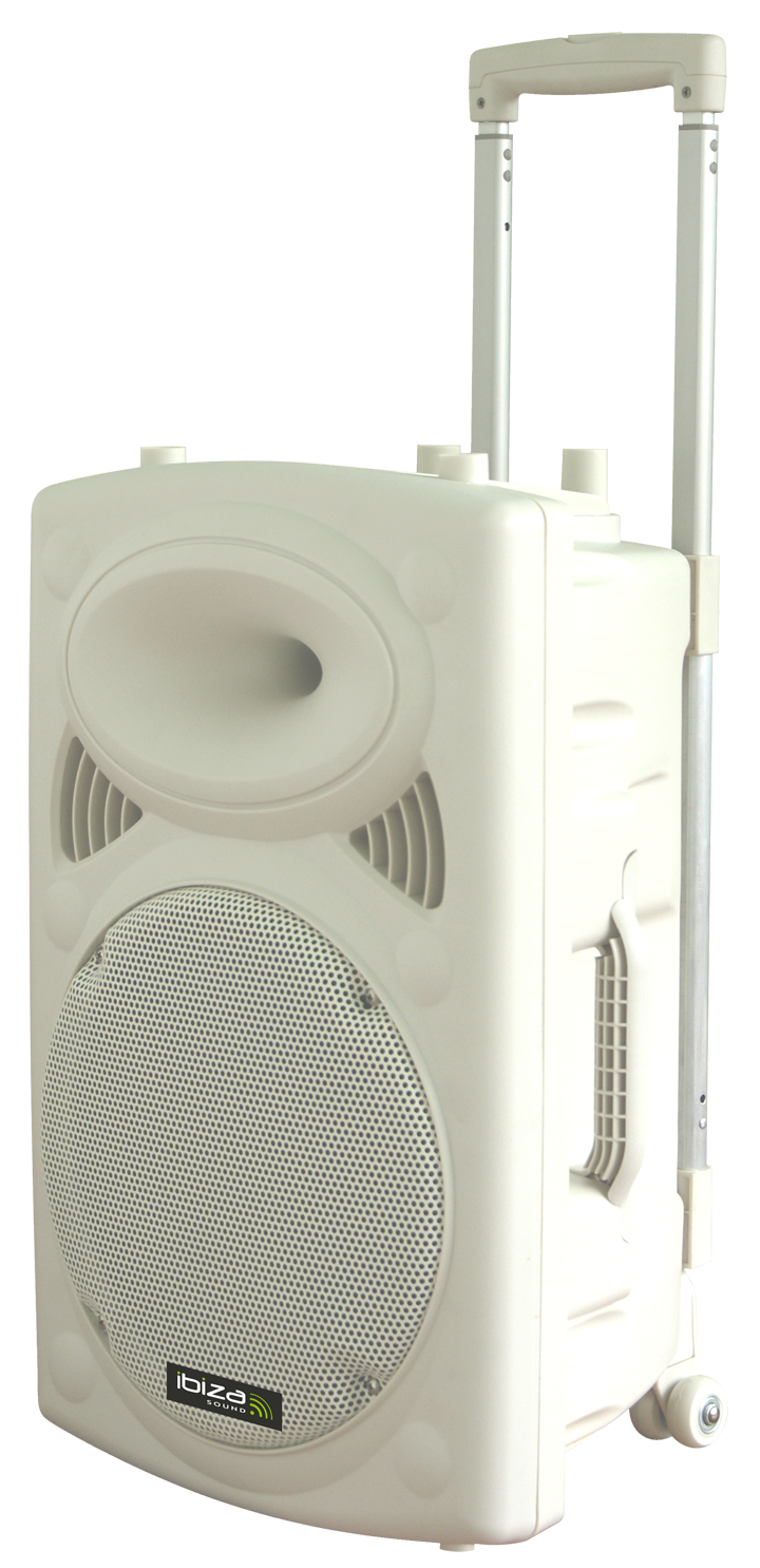 Image of   PORTABLE STAND-ALONE PA SYSTEM WITH USB, VOX, BLUETOOTH & 2x WIRELESS UHF MICS