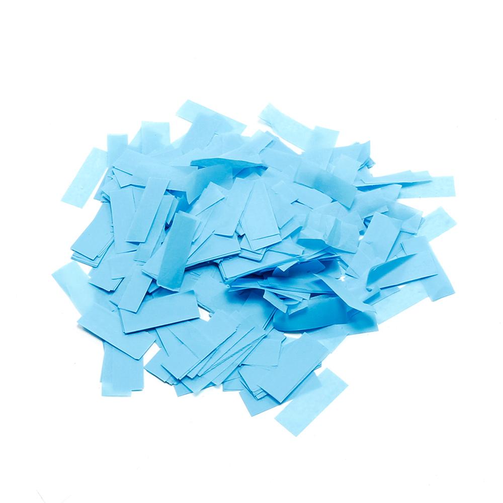 Billede af Papir konfetti Lys Blå