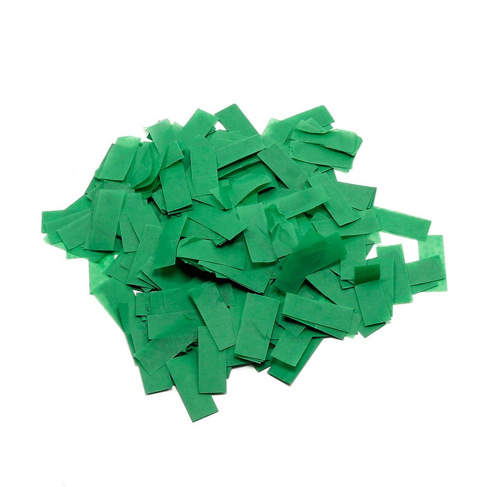 Billede af Papir konfetti Mørk Grøn