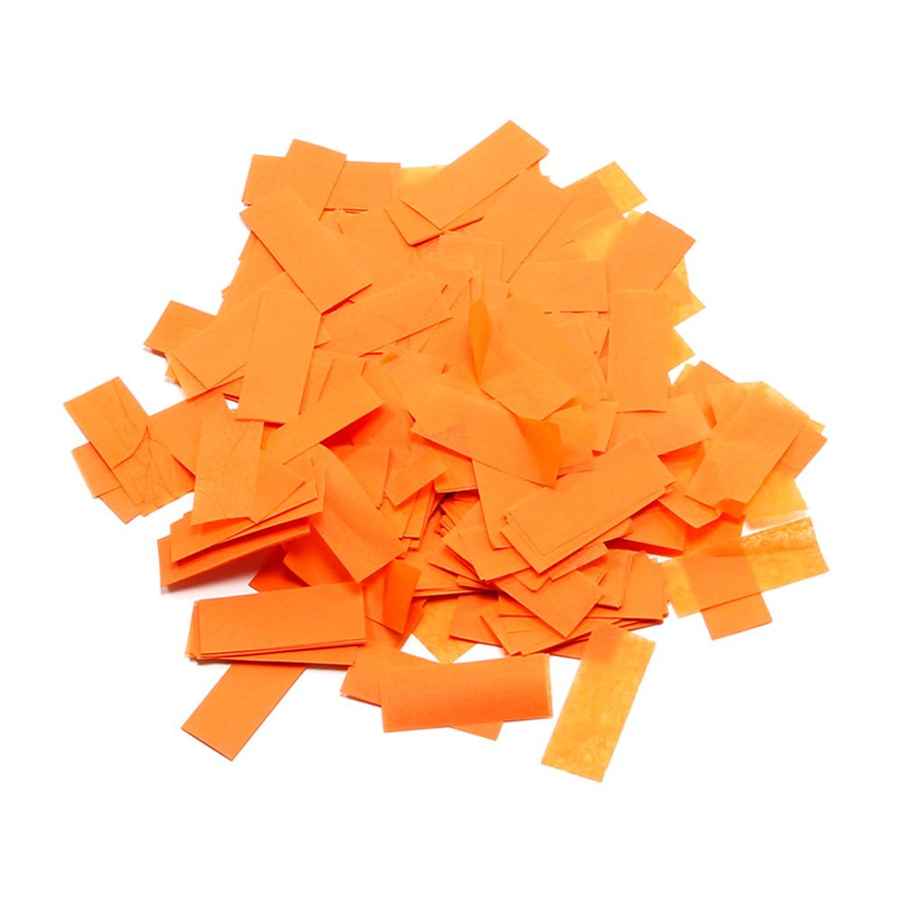 Billede af Papir konfetti Orange
