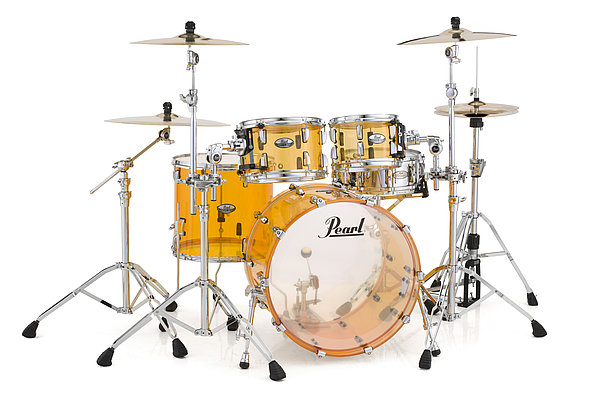 Billede af Pearl Crystal Beat Rock Trommesæt Tangerine