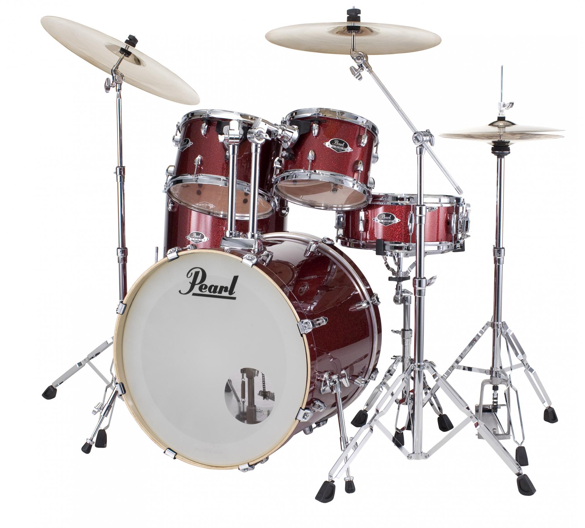 Billede af Pearl Export EXX Standard Trommesæt Black Cherry Glitter