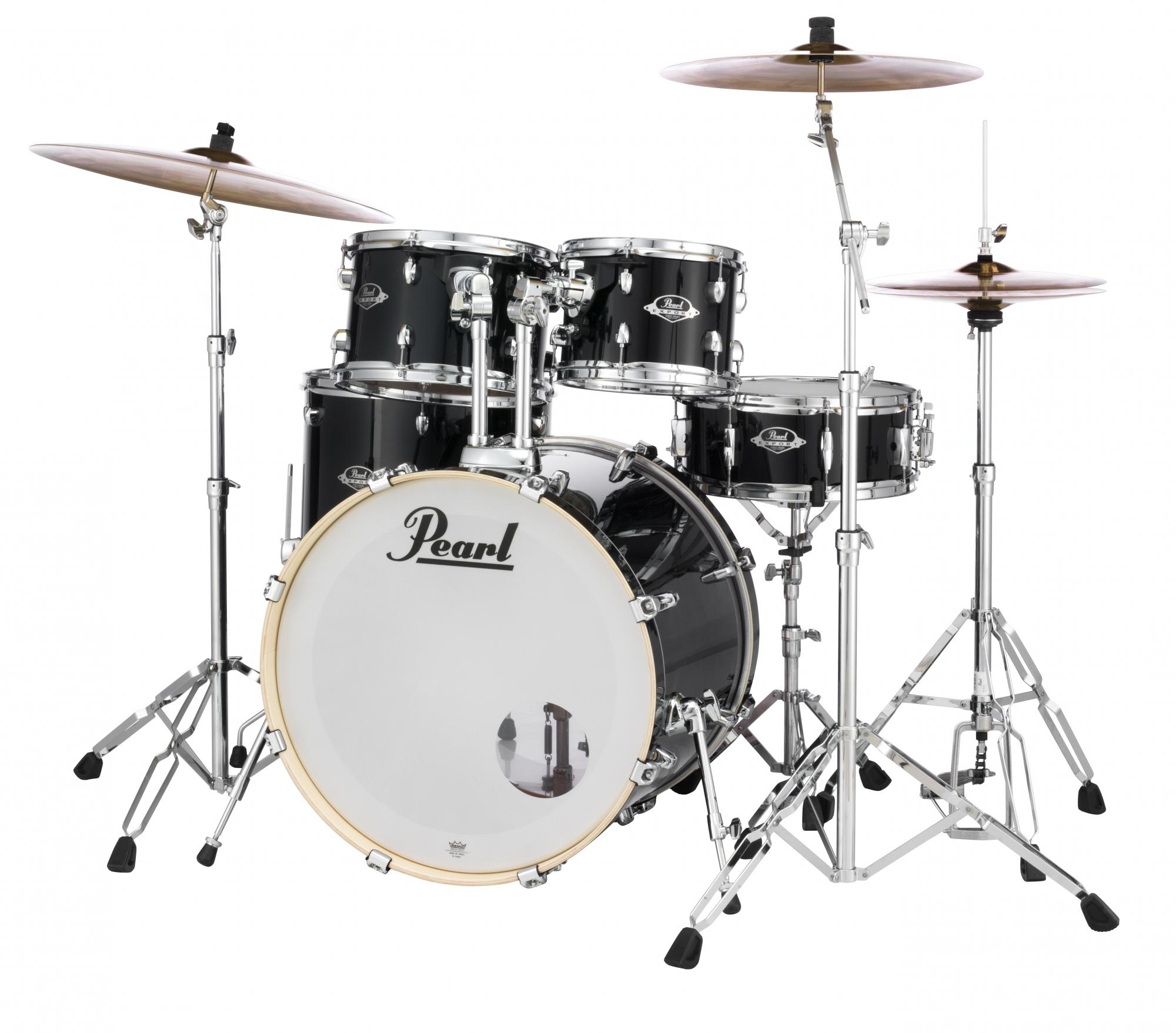 Billede af Pearl Export EXX Standard Trommesæt Jet Black