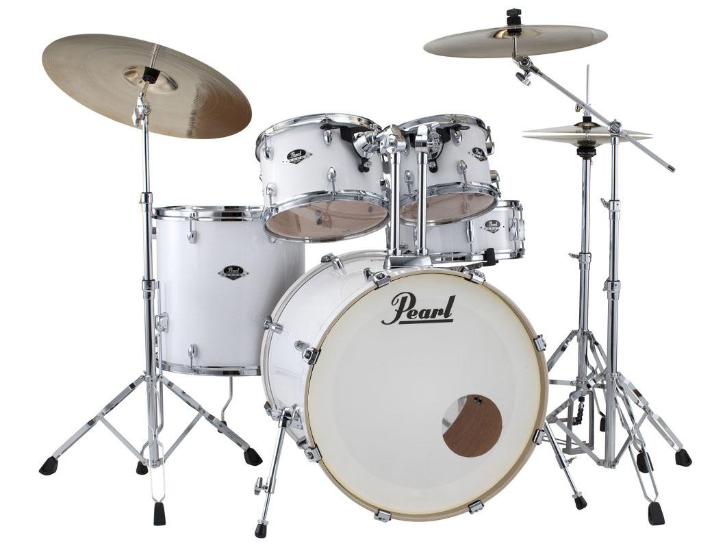 Billede af Pearl Export EXX Rock Trommesæt Arctic Sparkle