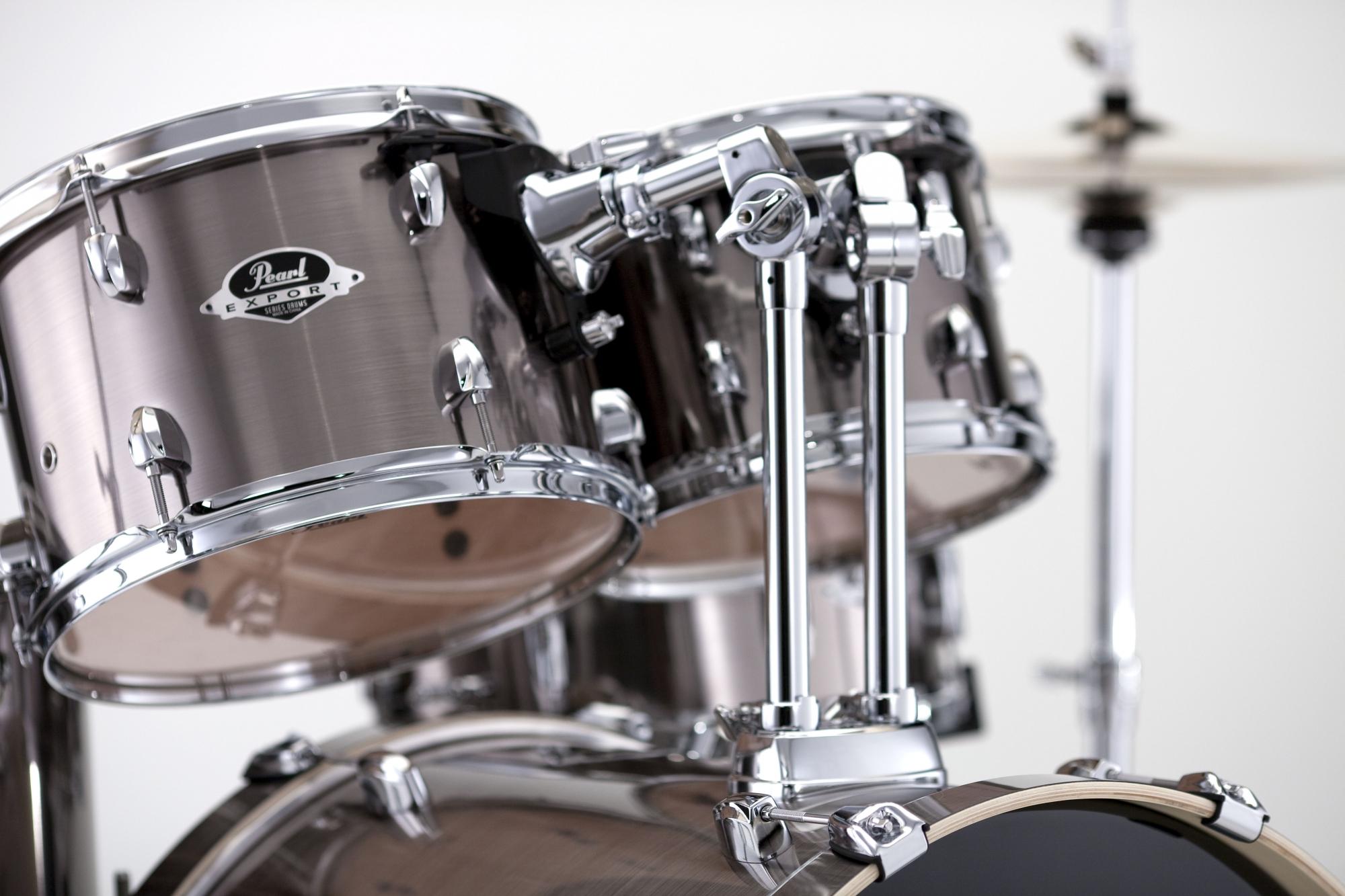 Billede af Pearl Export EXX Studio Trommesæt Smokey Chrome