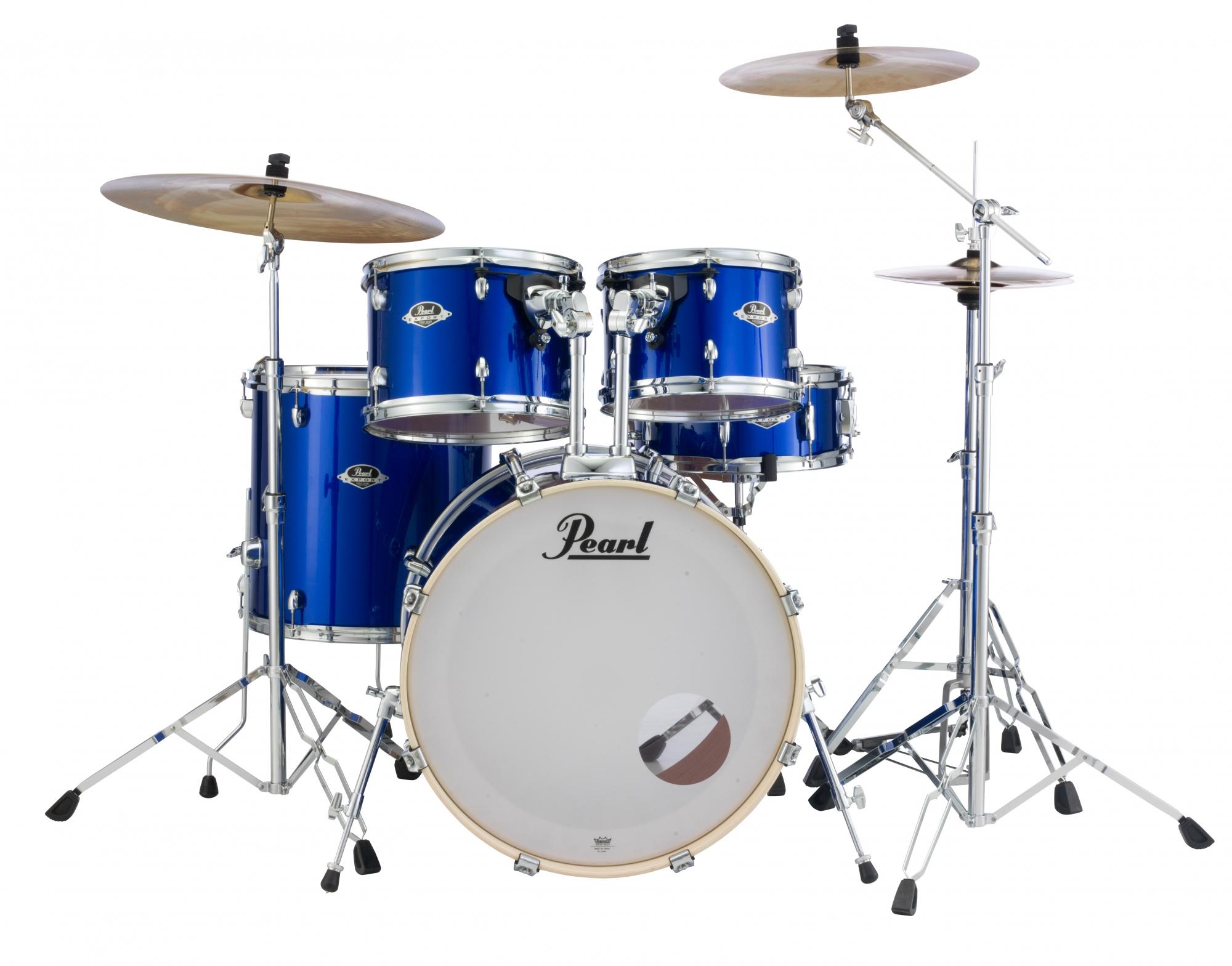 Billede af Pearl Export EXX Fusion Trommesæt High Voltage Blue