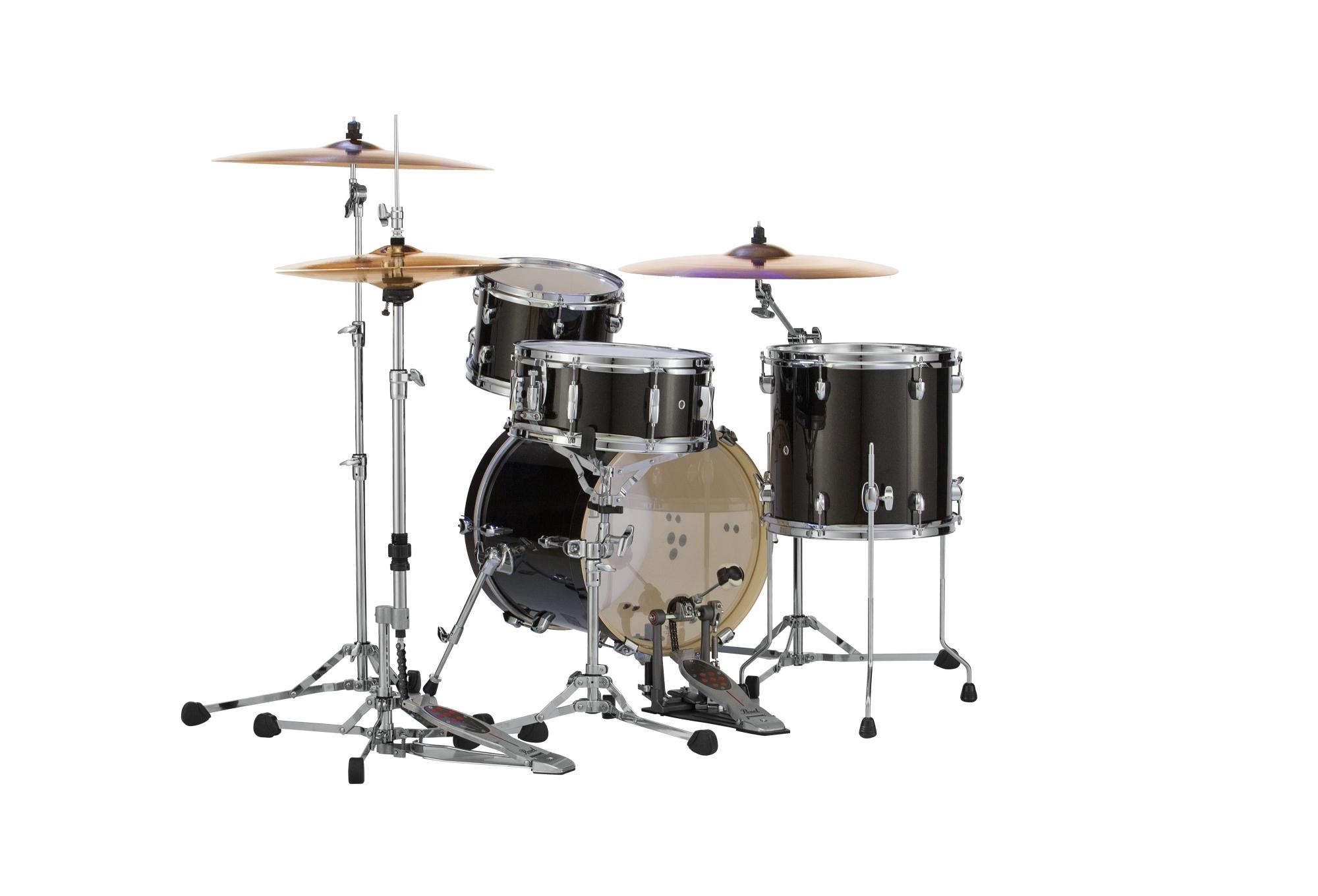 Billede af Pearl Midtown Trommesæt Black Gold Sparkle