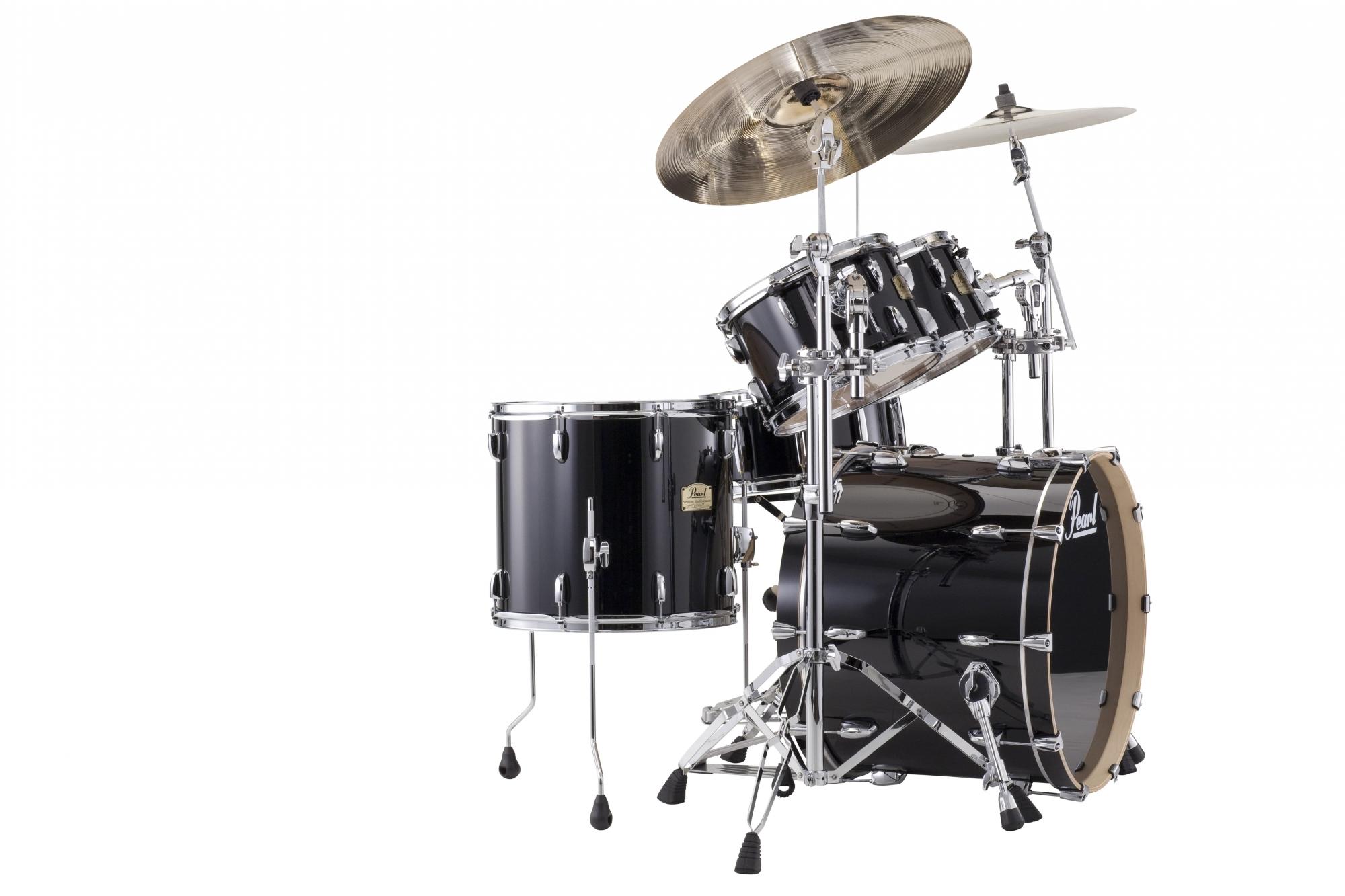 Billede af Pearl Session Studio Classic Rock Trommesæt Piano Black