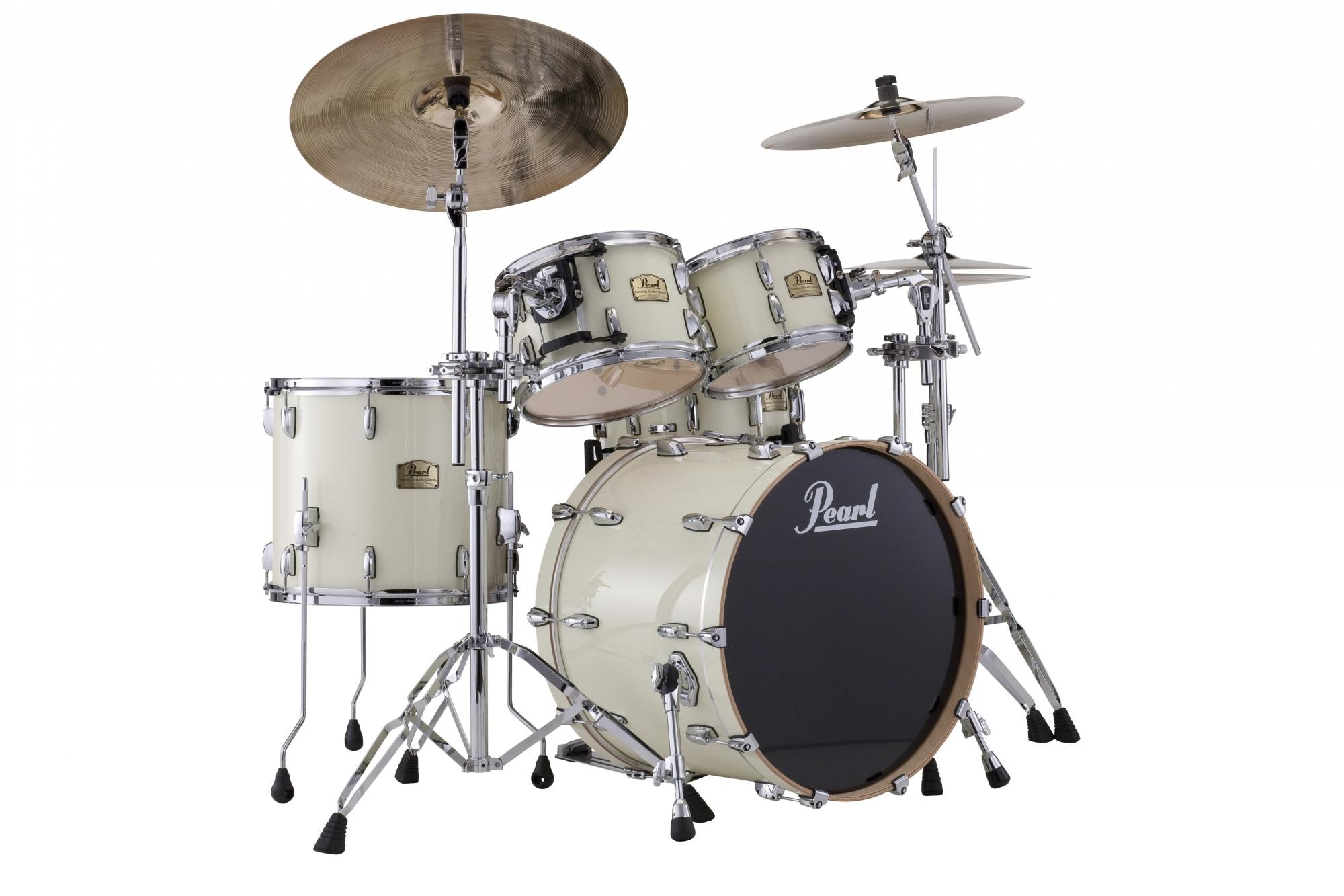 Billede af Pearl Session Studio Classic Rock Trommesæt Antique white